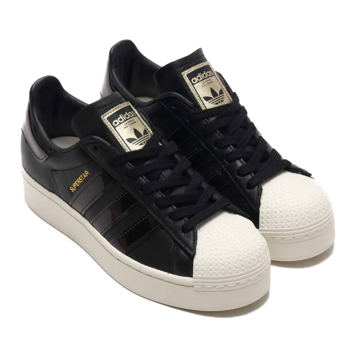 adidas SUPERSTARBOLD W CORE BLACK/OFF WHITE/GOLD METARIC 20SS-S_photo_large