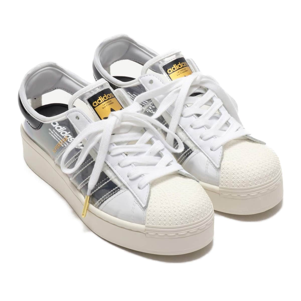 adidas SUPERSTARBOLD W FOOTWEAR WHITE/OFF WHITE/CORE BLACK 20SS-S_photo_large