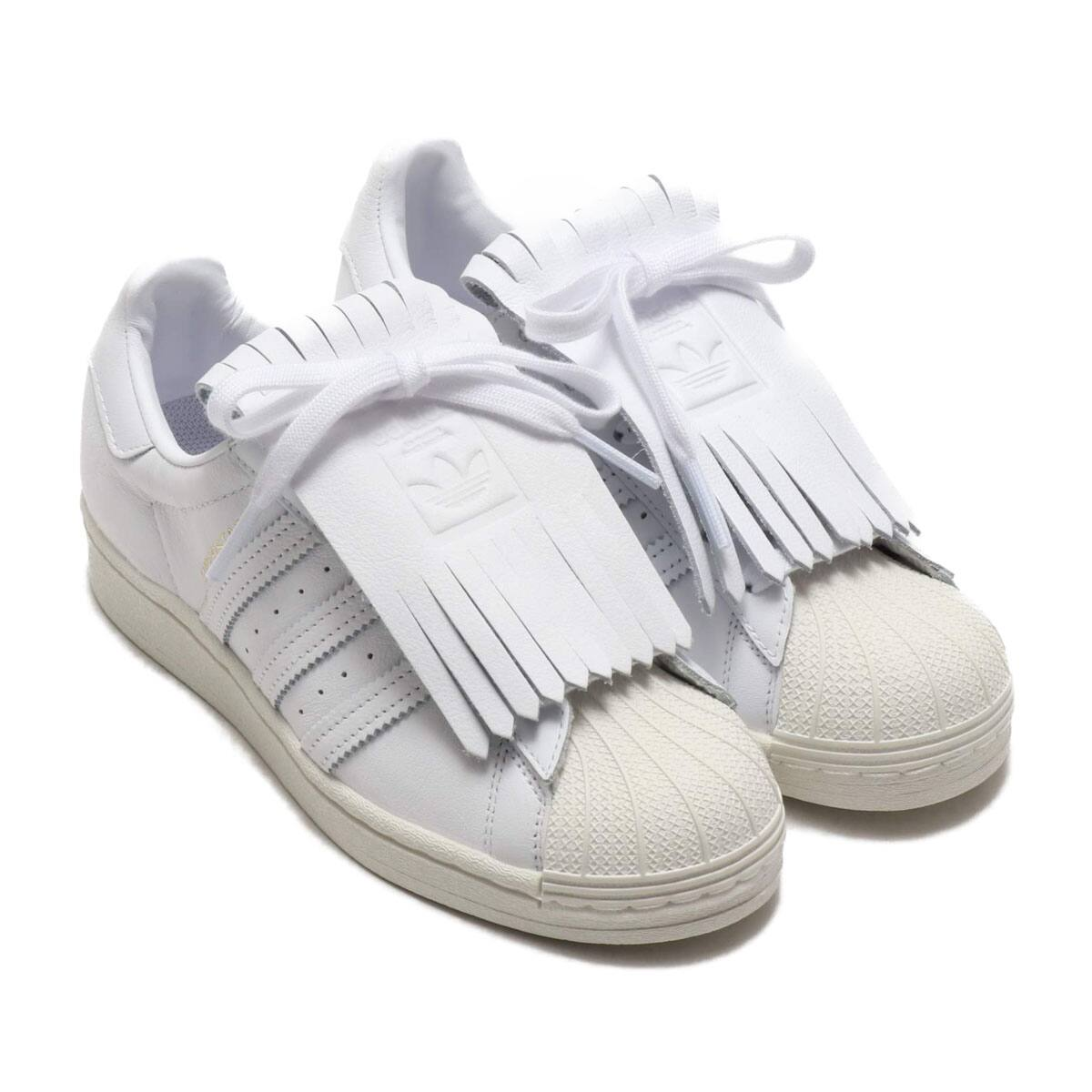 adidas SUPERSTAR FR W FOOTWEAR WHITE/OFF WHITE/GOLD METARIC 20SS-I_photo_large