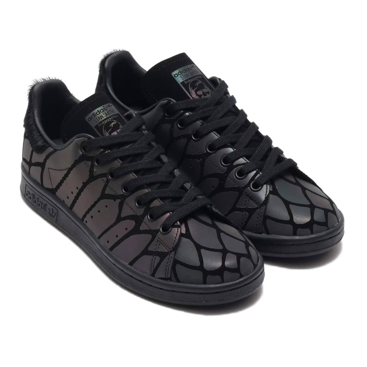 adidas STAN SMITH W CORE BLACK/CORE BLACK/CORE BLACK 19FW-S_photo_large