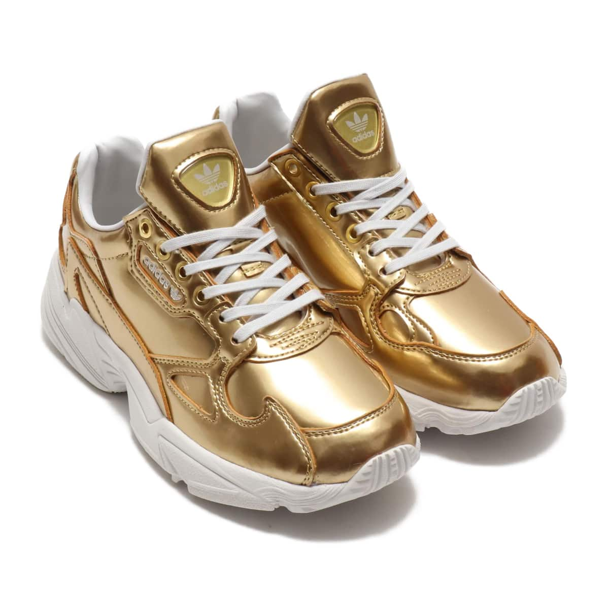 adidas FALCON W GOLD MET/GOLD MET/CRYSTAL WHITE 19FW-S_photo_large