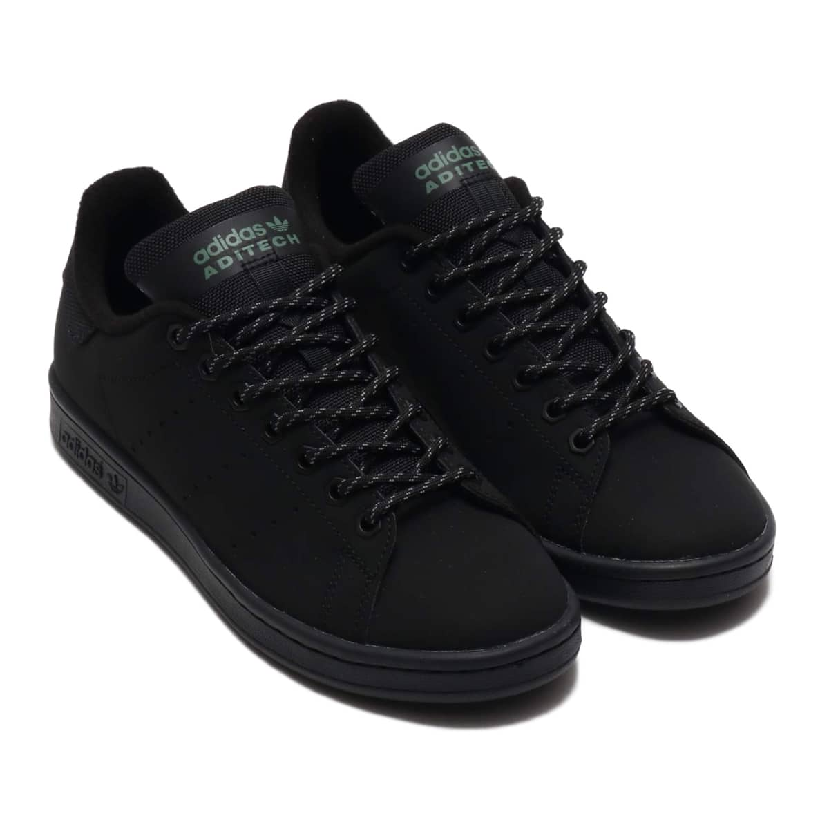 adidas STAN SMITH CORE BLACK/CORE BLACK/TRACE GREEN 20SS-S_photo_large