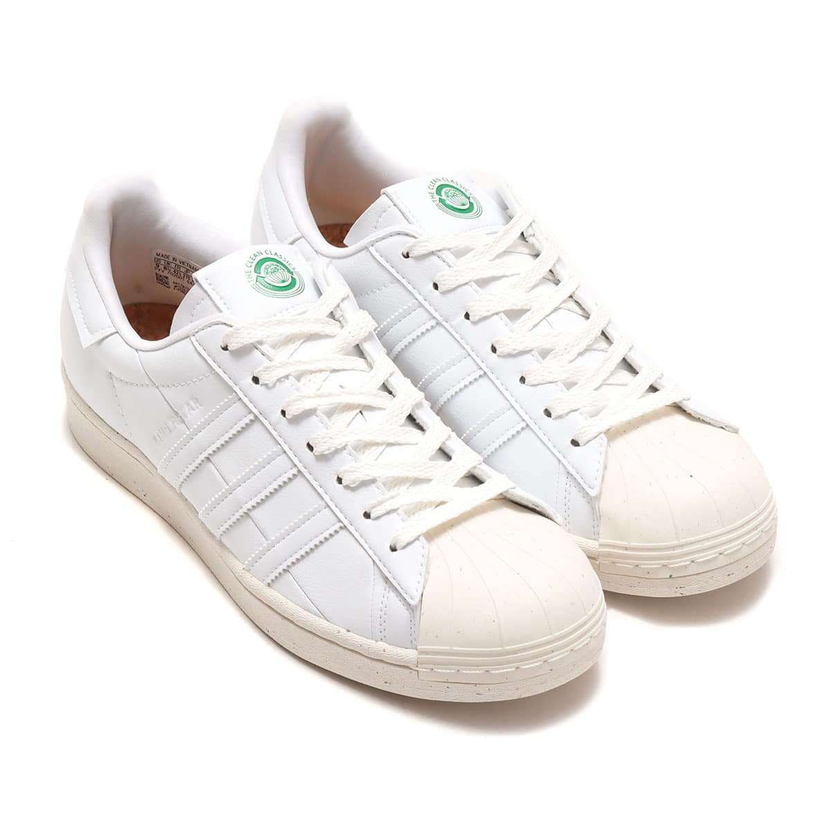 adidas SUPERSTAR FOOTWEAR WHITE/OFF WHITE/GREEN 20FW-I_photo_large