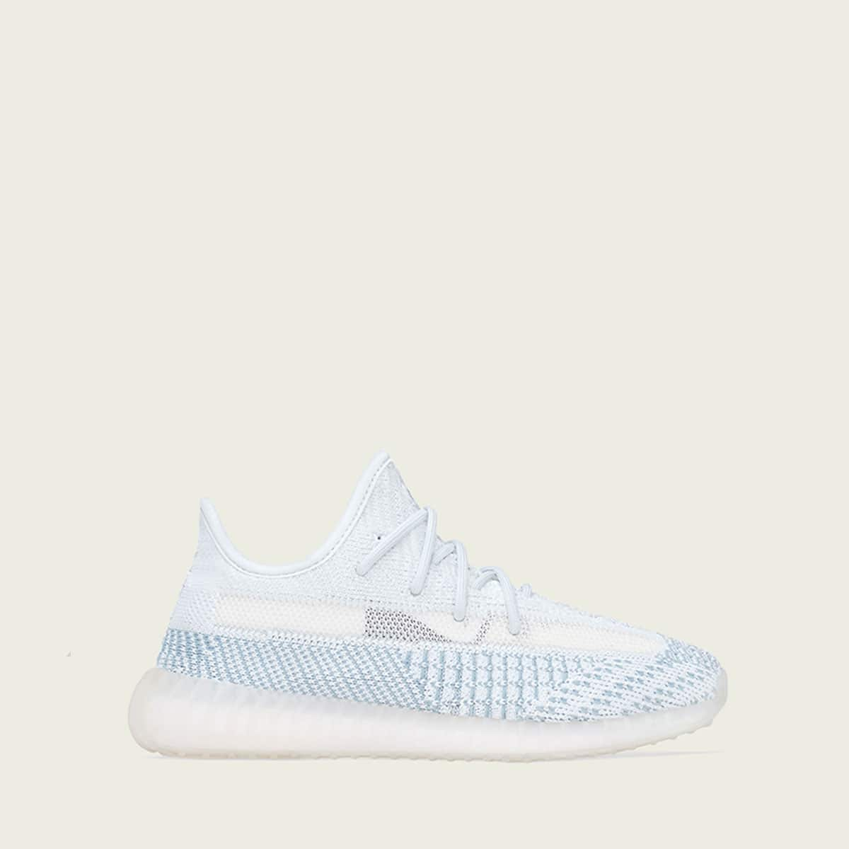 "adidas YEEZY_BOOST 350 V2""CLOUD WHITE""KIDS CLOUD WHITE/CLOUD WHITE/CLOUD WHITE 19FW-S_photo_large"