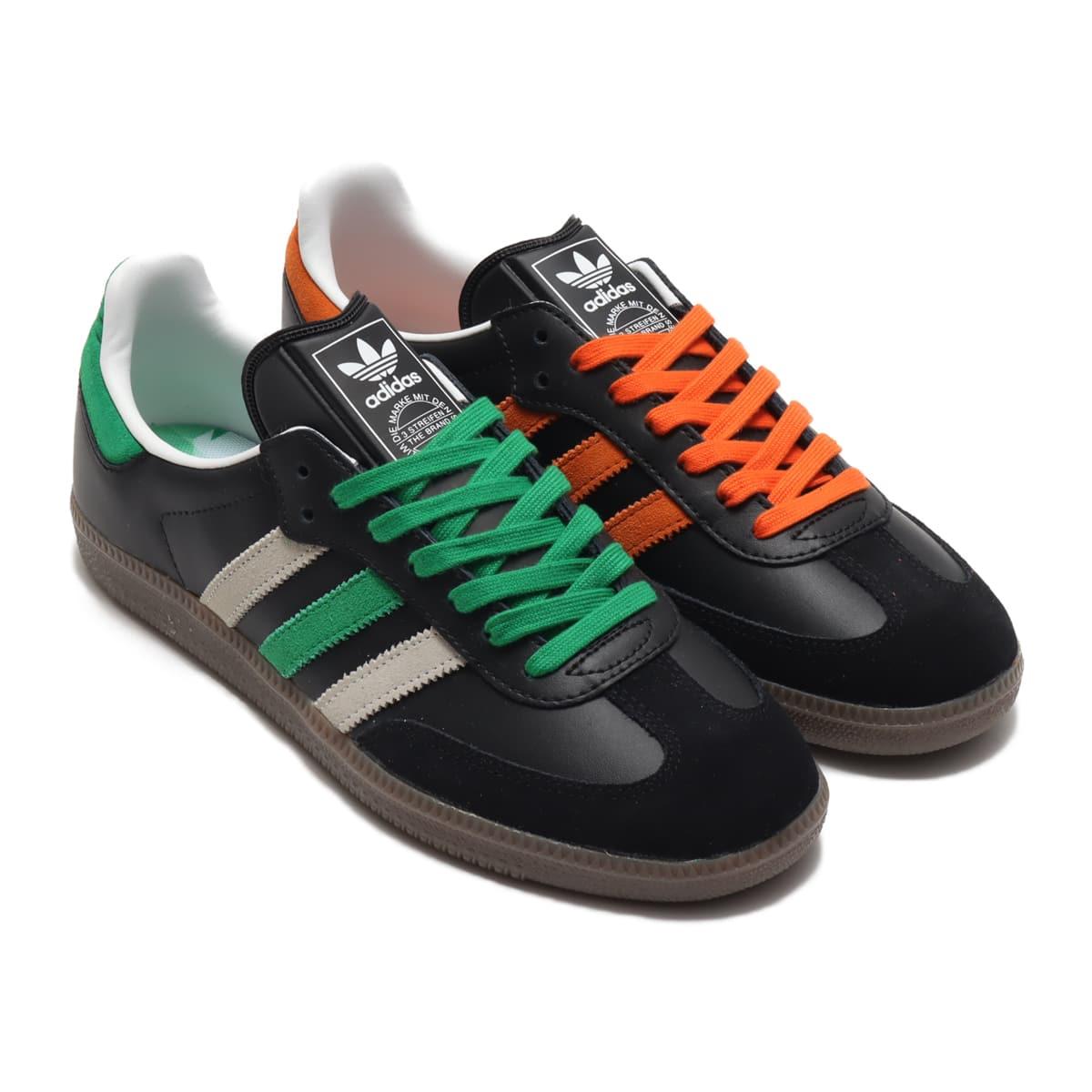 adidas SAMBA CORE BLACK/ORANGE/FOOTWEAR