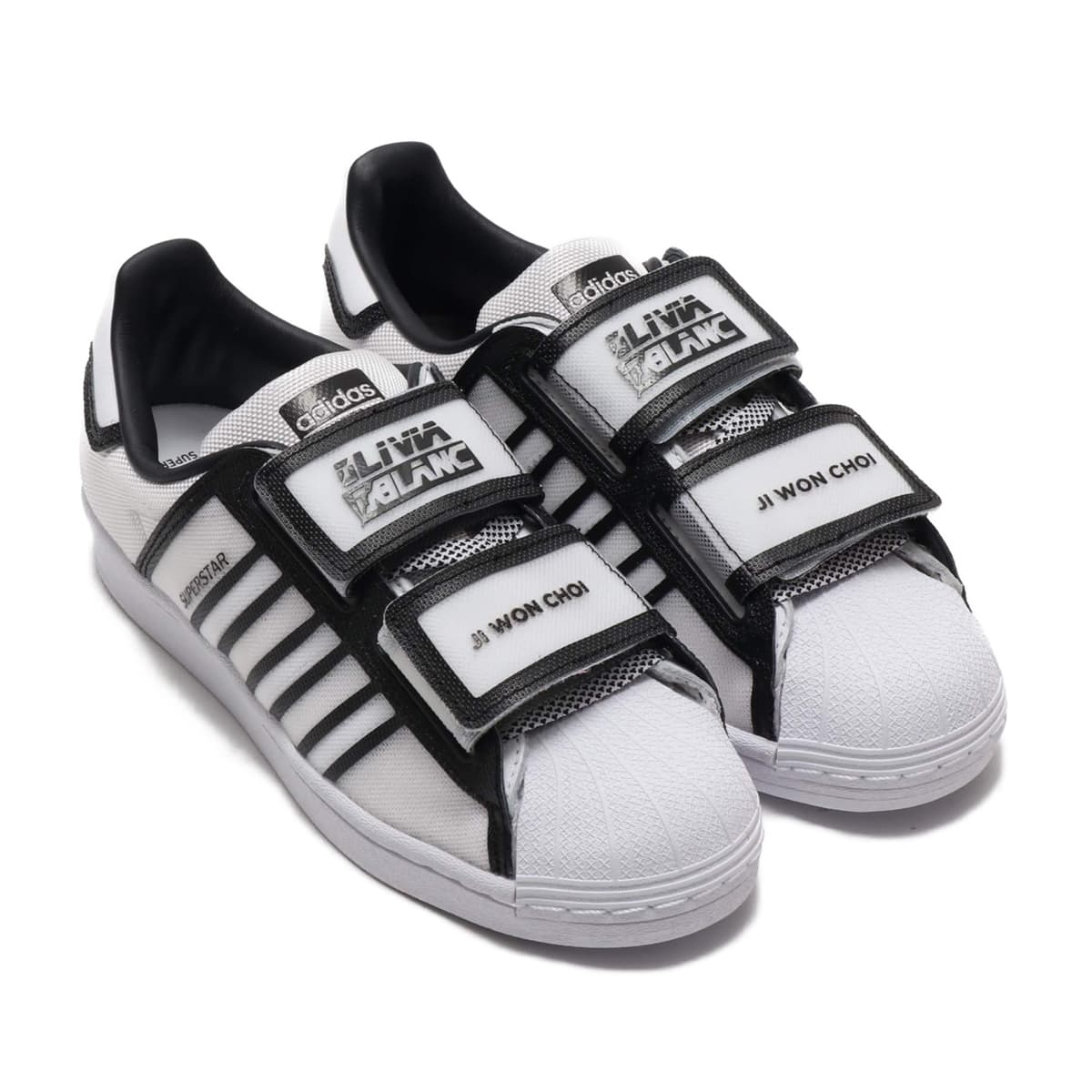 adidas SUPERSTAR W FOOTWEAR WHITE/CORE BLACK/SCARLET 20SS-S_photo_large