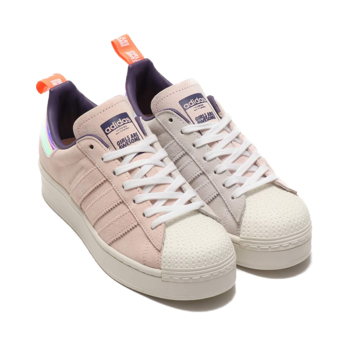 adidas SUPERSTAR PLATEAU W FOOTWEAR WHITE/SIGNAL CORAL/ICE PINK 20SS-S_photo_large