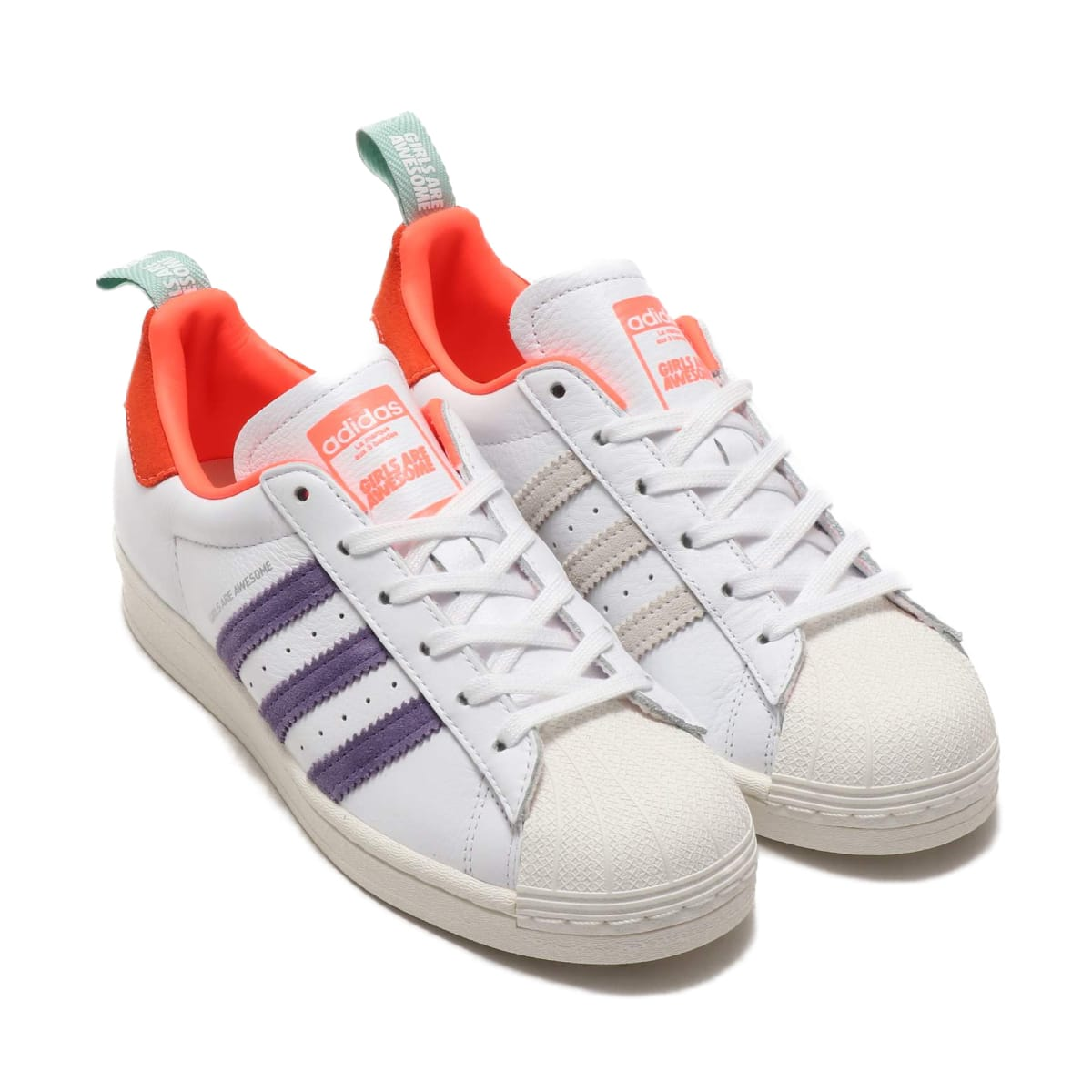 adidas SUPERSTAR FOOTWEAR WHITE/ICE PINK/SIGNAL CORAL 20SS-S_photo_large