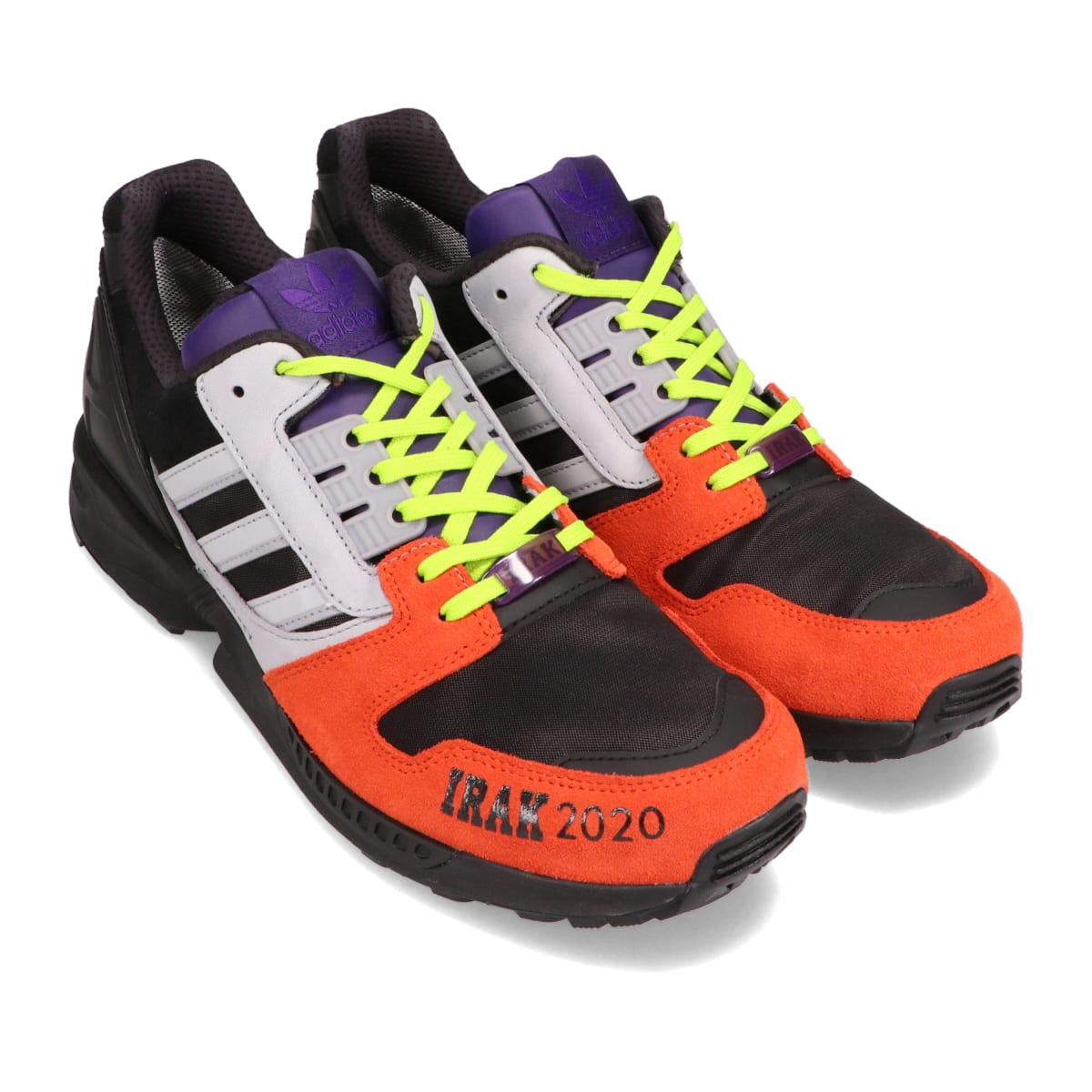 adidas IRAK ZX 8000 GTX CORE BLACK/CLEAR ONIX/SOLAR RED 20FW-S_photo_large