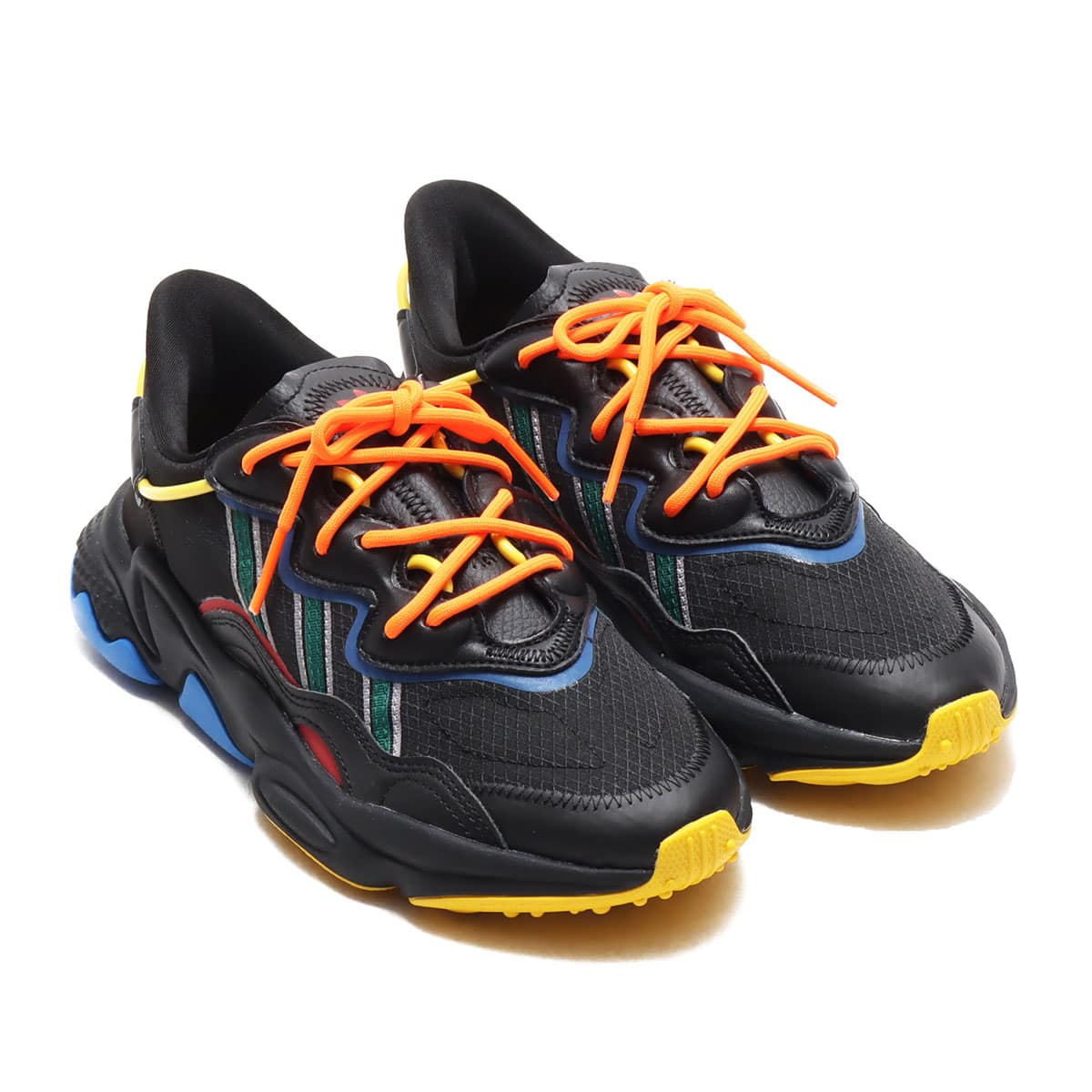 ANGEL CHEN x adidas OZWEEGO AC CORE BLACK/COLLEGIATE GREEN/POWER RED 20SS-S_photo_large