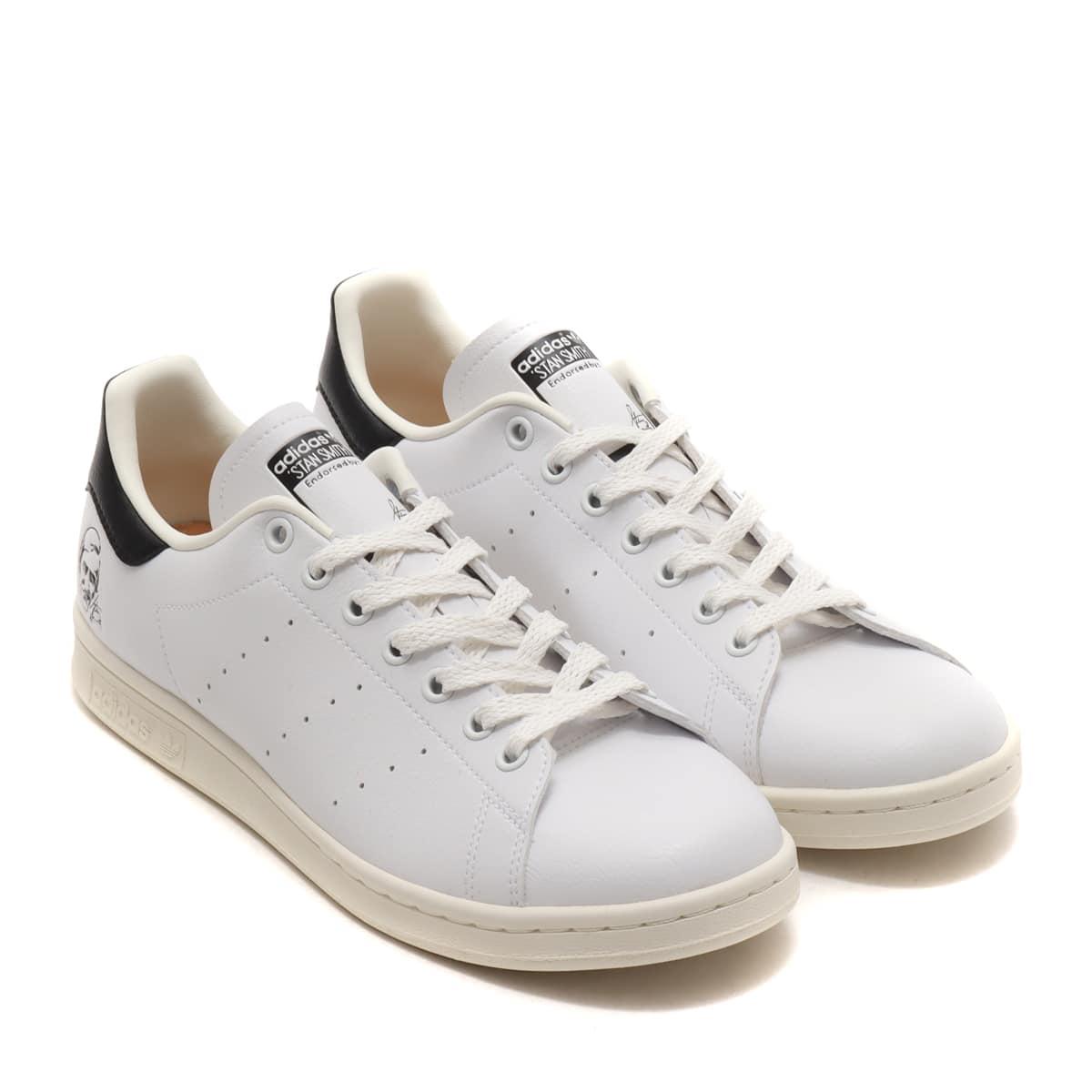 adidas STAN SMITH OFF WHITE /FOOTWEAR WHITE/CORE BLACK 21SS-I_photo_large