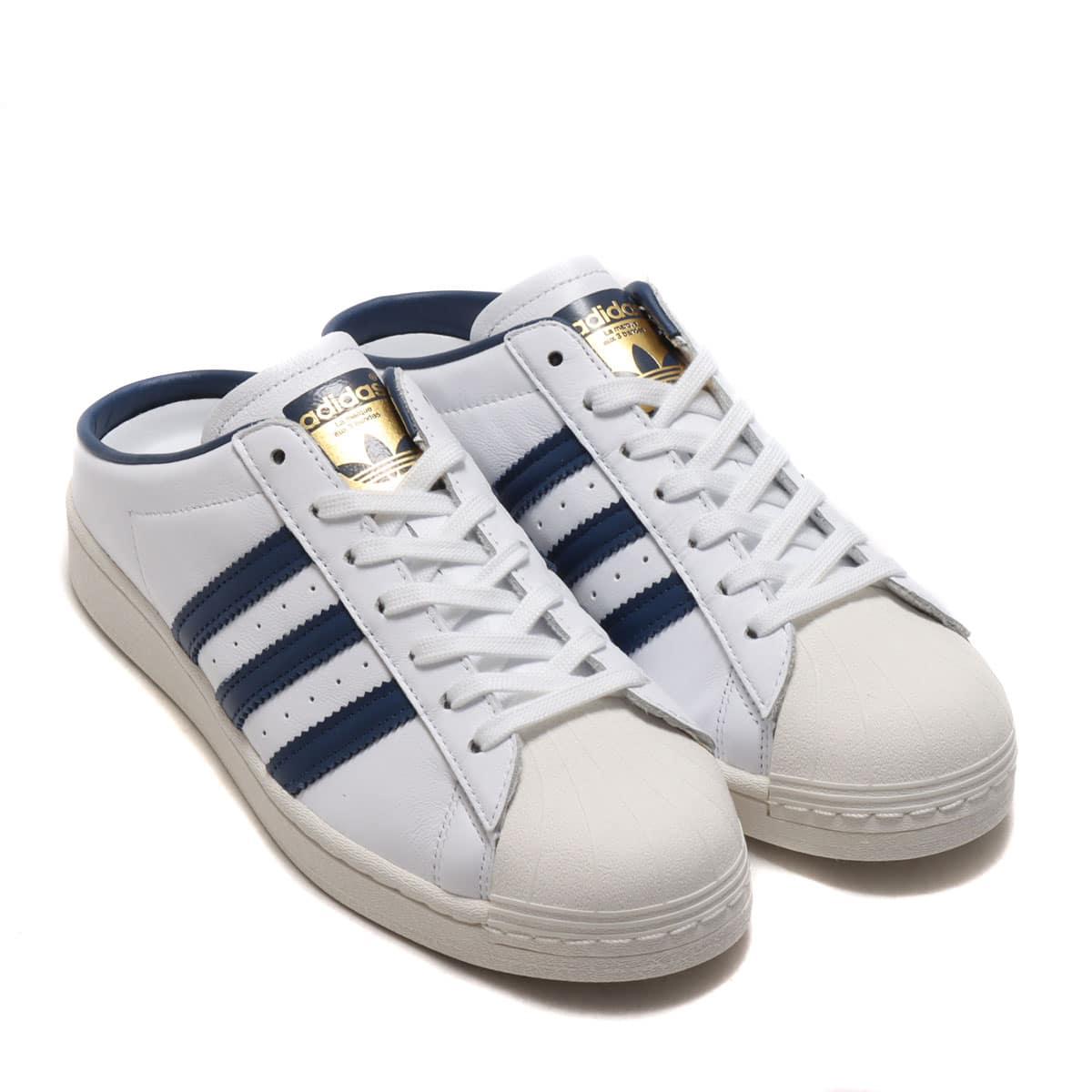 adidas SST MULE FOOTWEAR WHITE/NIGHT MARINE/GOLD METALLIC 21SS-I_photo_large
