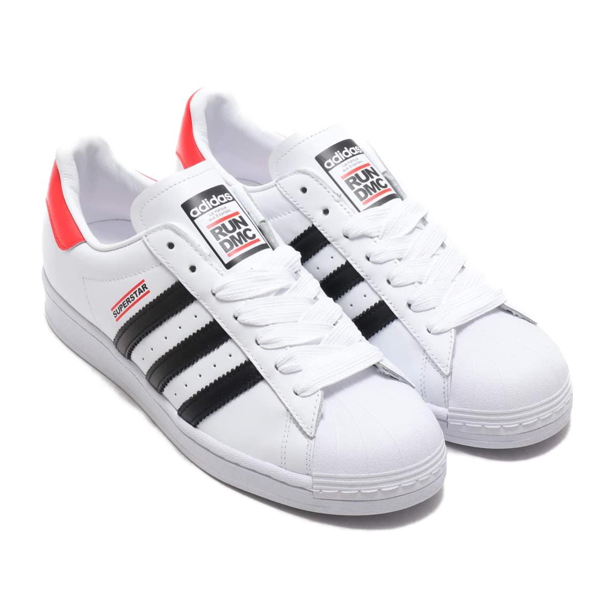 adidas SUPERSTAR 50 RUN DMC FOOTWEAR WHITE/CORE BLACK/HIGHREZ RED 20SS-S_photo_large