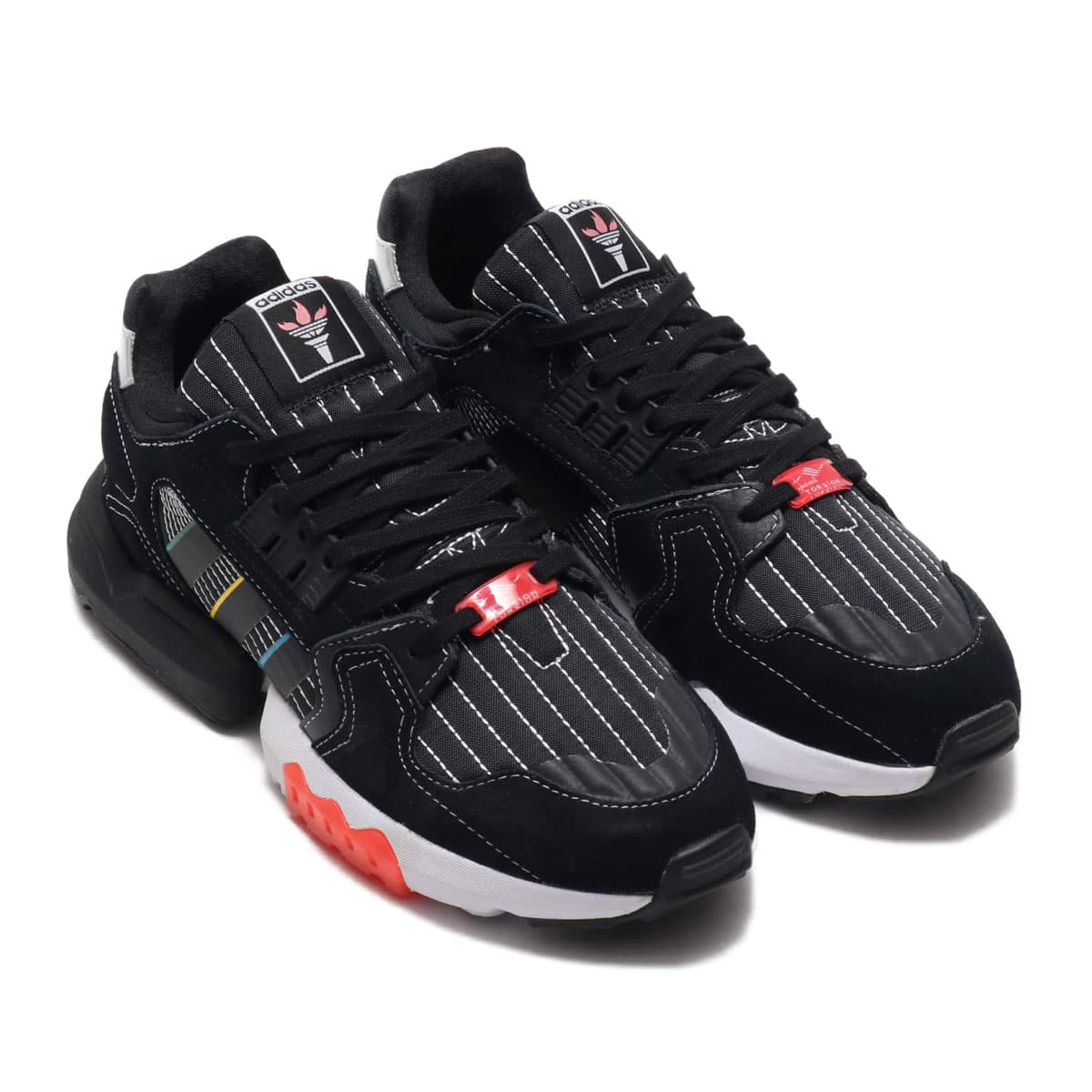 adidas ZX TORSION CORE BLACK/FOOTWEAR WHITE/HIGHREZ RED 20SS-S_photo_large