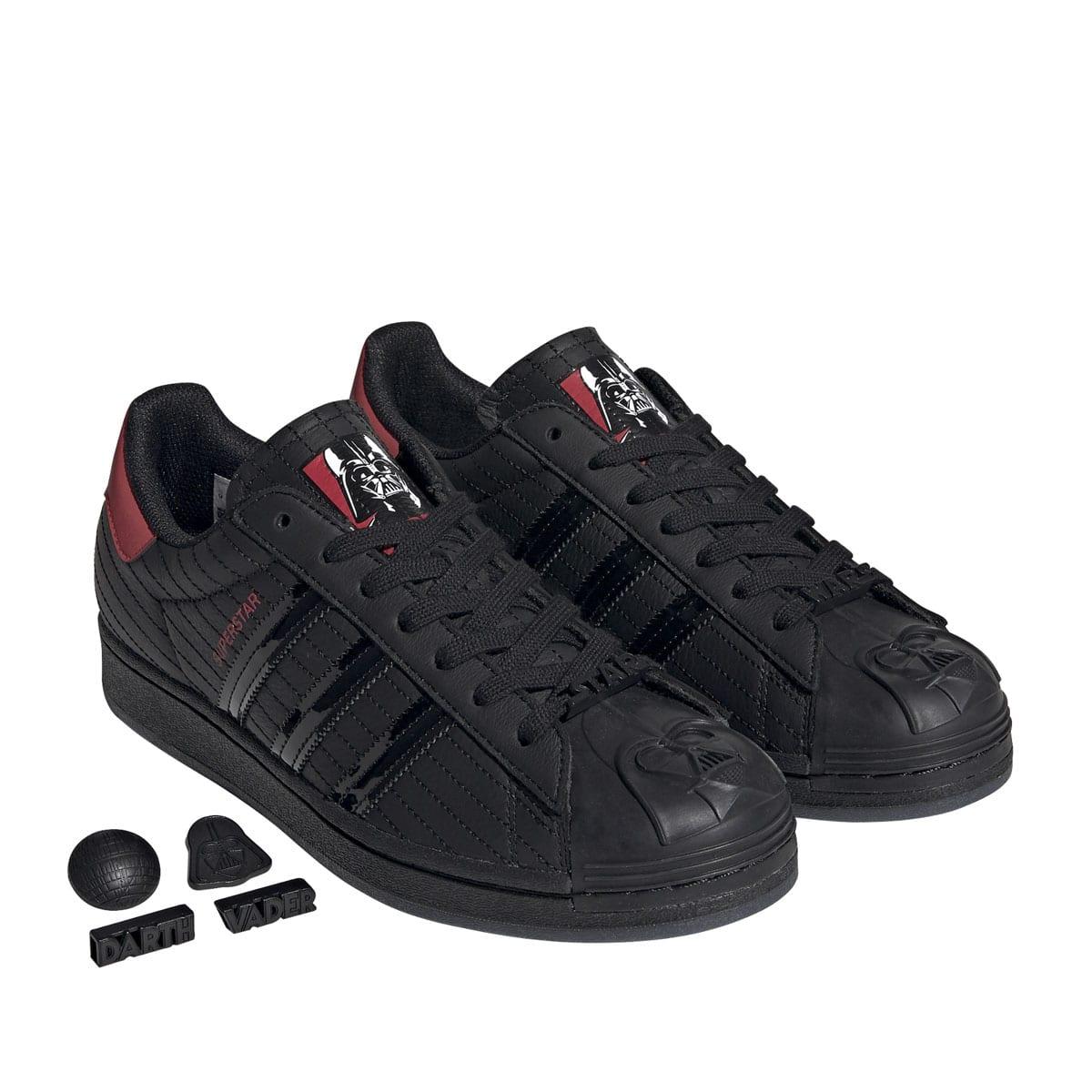 adidas x starwars SUPERSTAR DARTH VADER CORE BLACK/CORE BLACK/SCARLET 20SS-S_photo_large