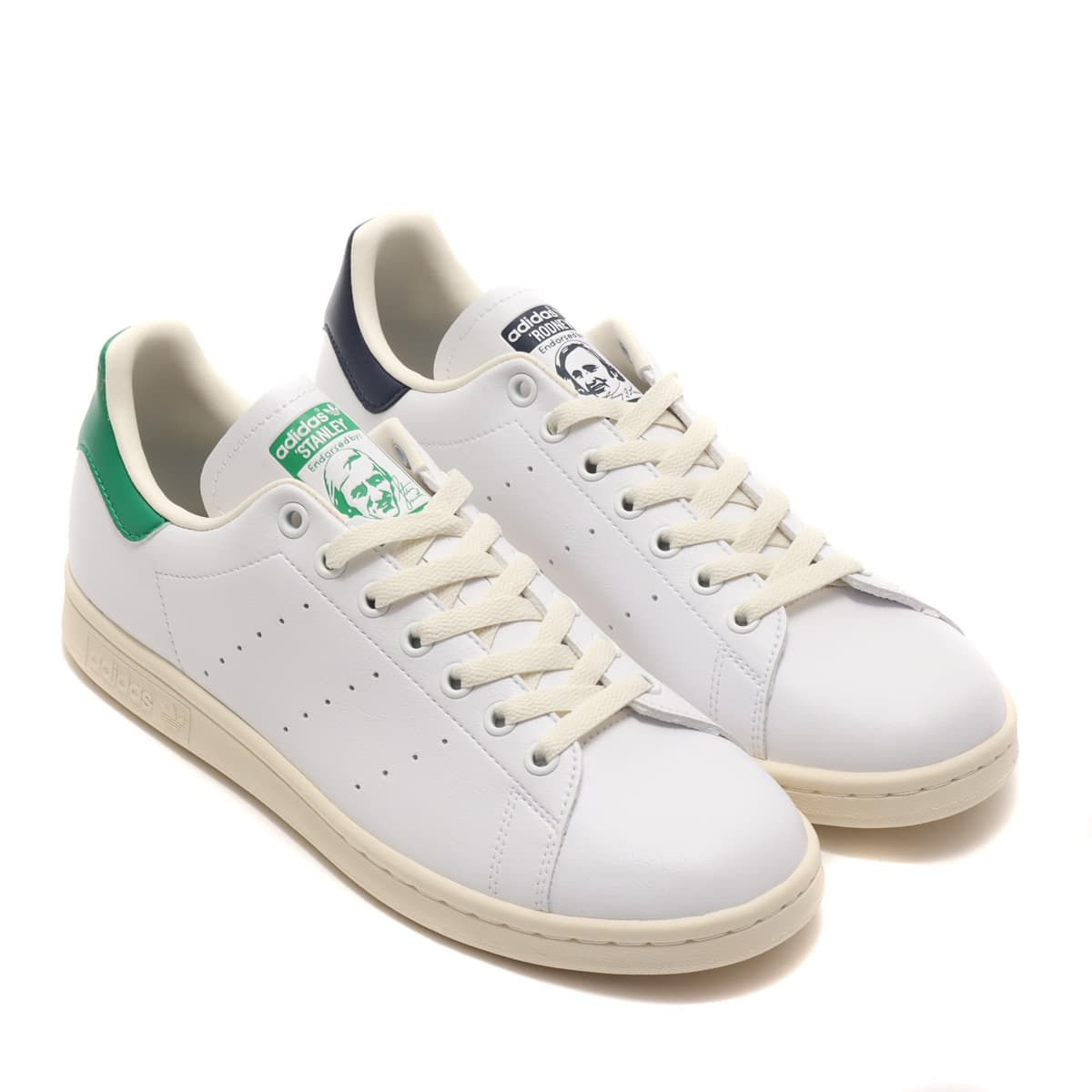 adidas STAN SMITH CREAM WHITE/FOOTWEAR WHITE/COLLEGE NAVY 21SS-I_photo_large