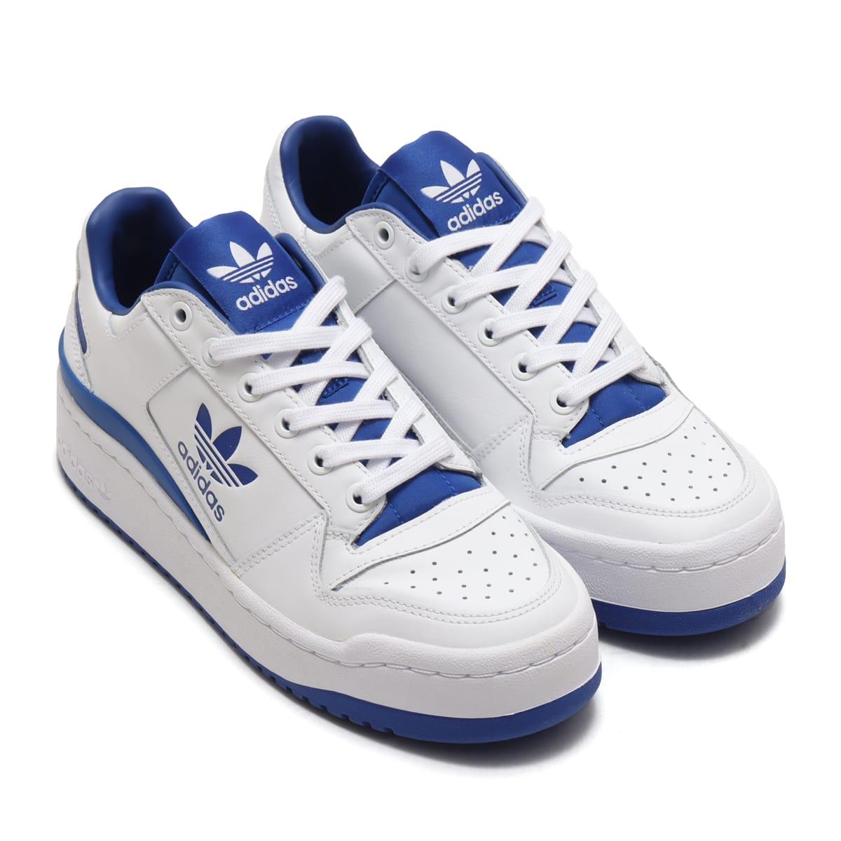 adidas FORUMBOLD W フットウェアホワイト/フットウェアホワイト/チームロイヤルブルー 21SS-I_photo_large