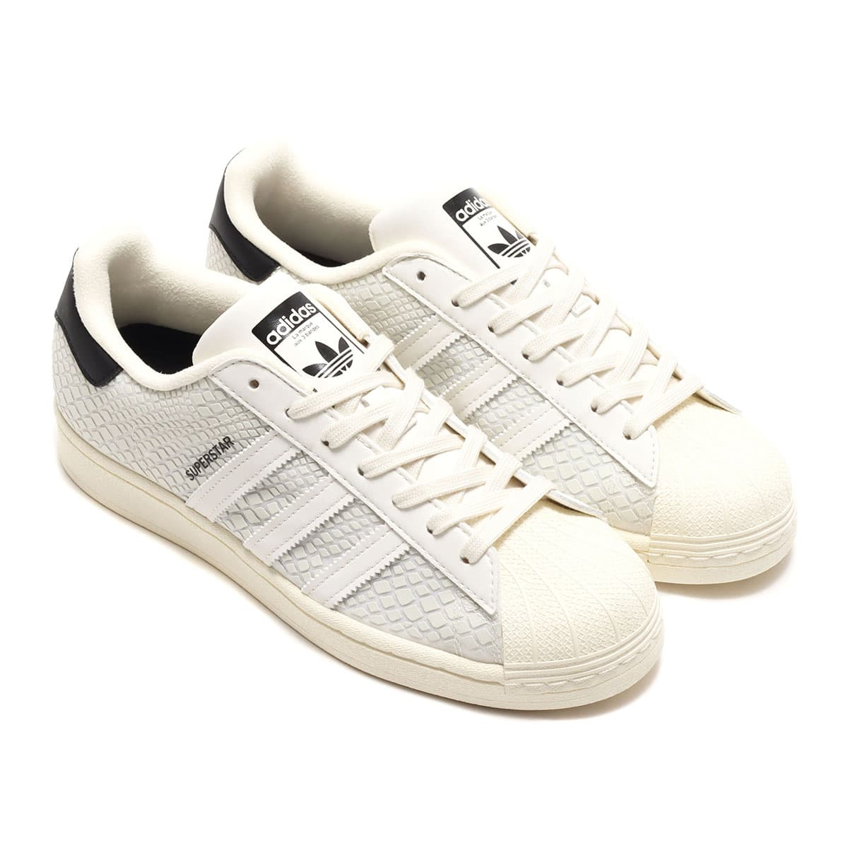 "adidas SUPERSTAR ATMOS ""G-SNK"" OFF WHITE/OFF WHITE/CORE BLACK 20SS-S_photo_large"
