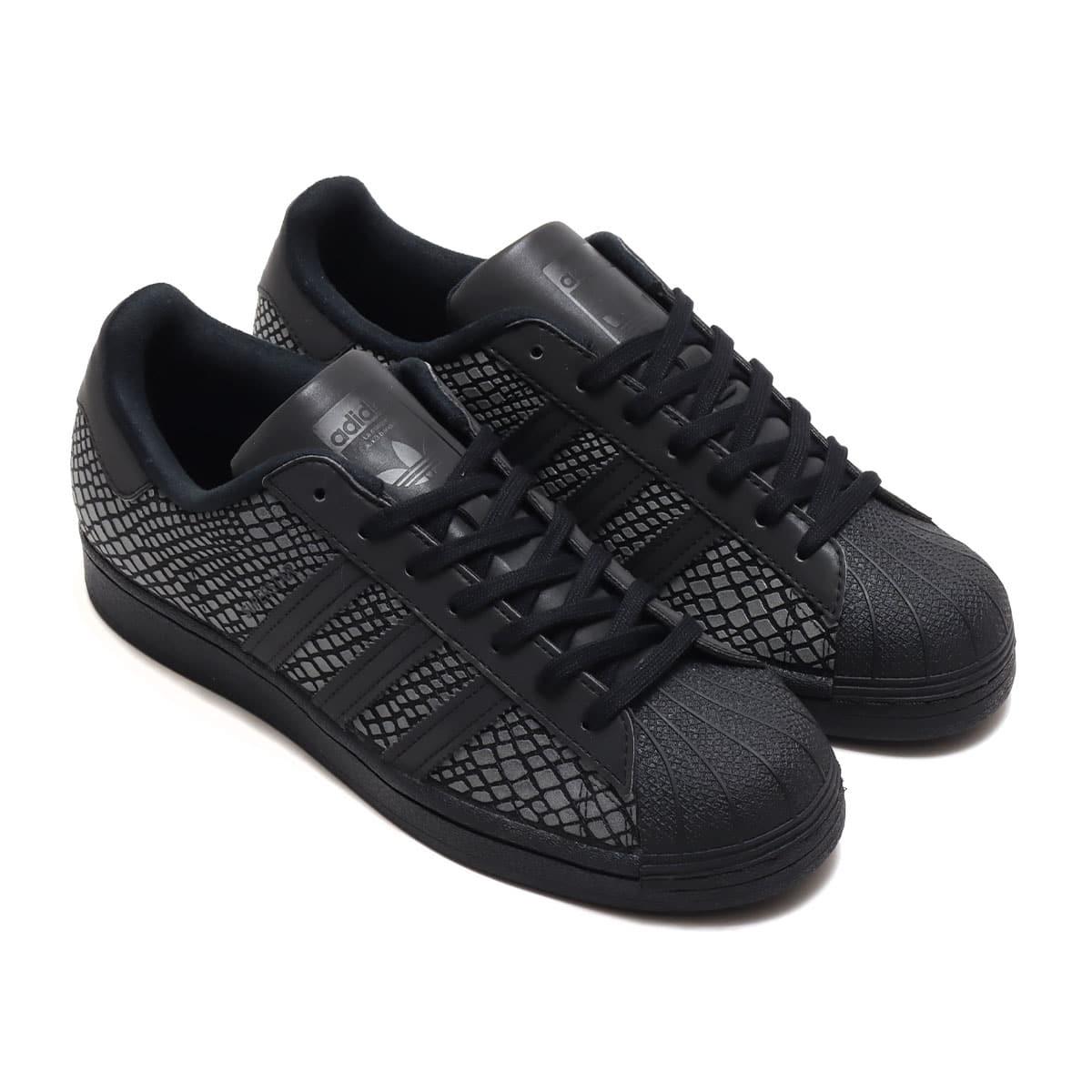 "adidas SUPERSTAR ATMOS ""R-SNK"" CORE BLACK/CORE BLACK/GRAY SIX 20SS-S_photo_large"