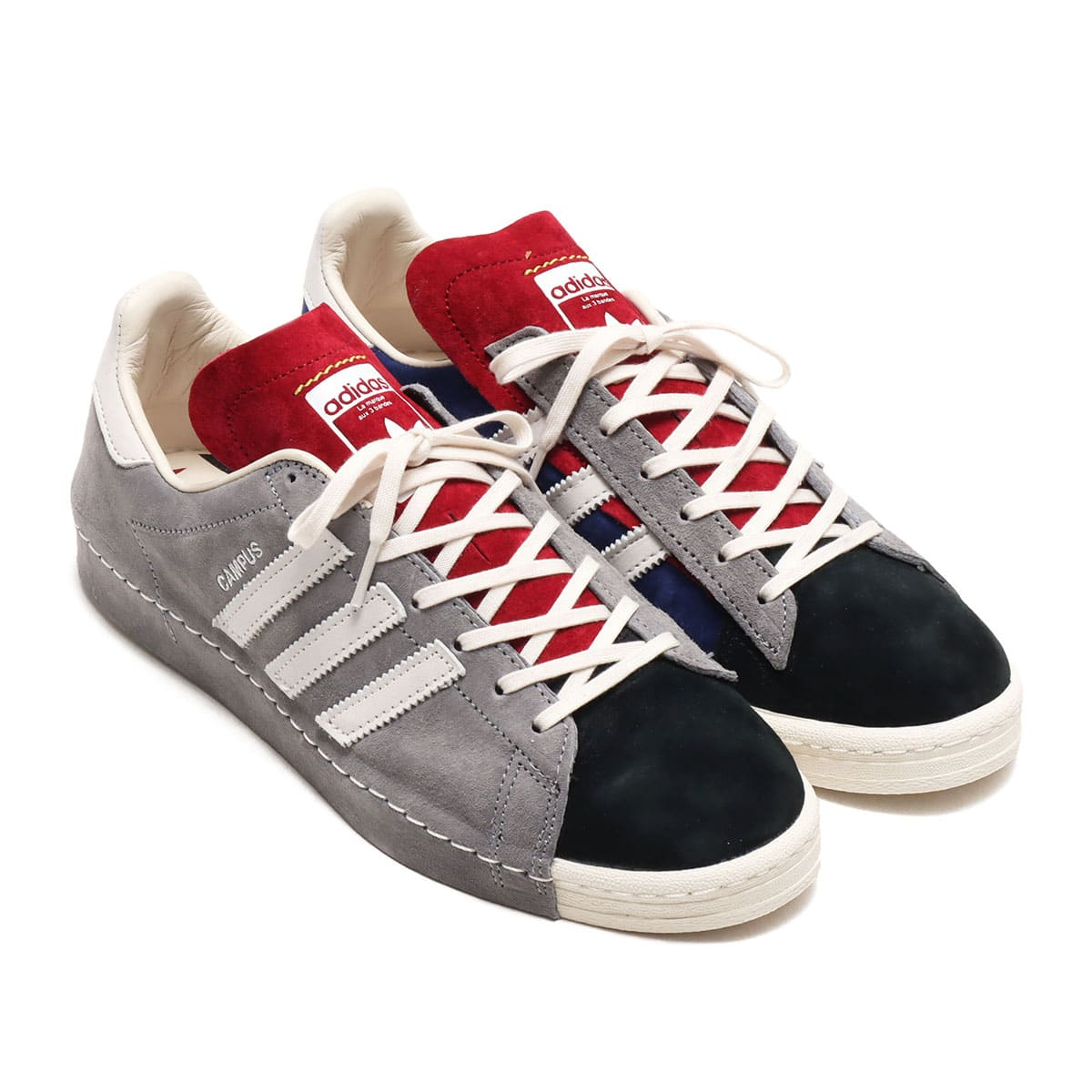 adidas CAMPUS 80S SH GREY THREE/CHALK WHITE/CORE BLACK 20FW-S_photo_large