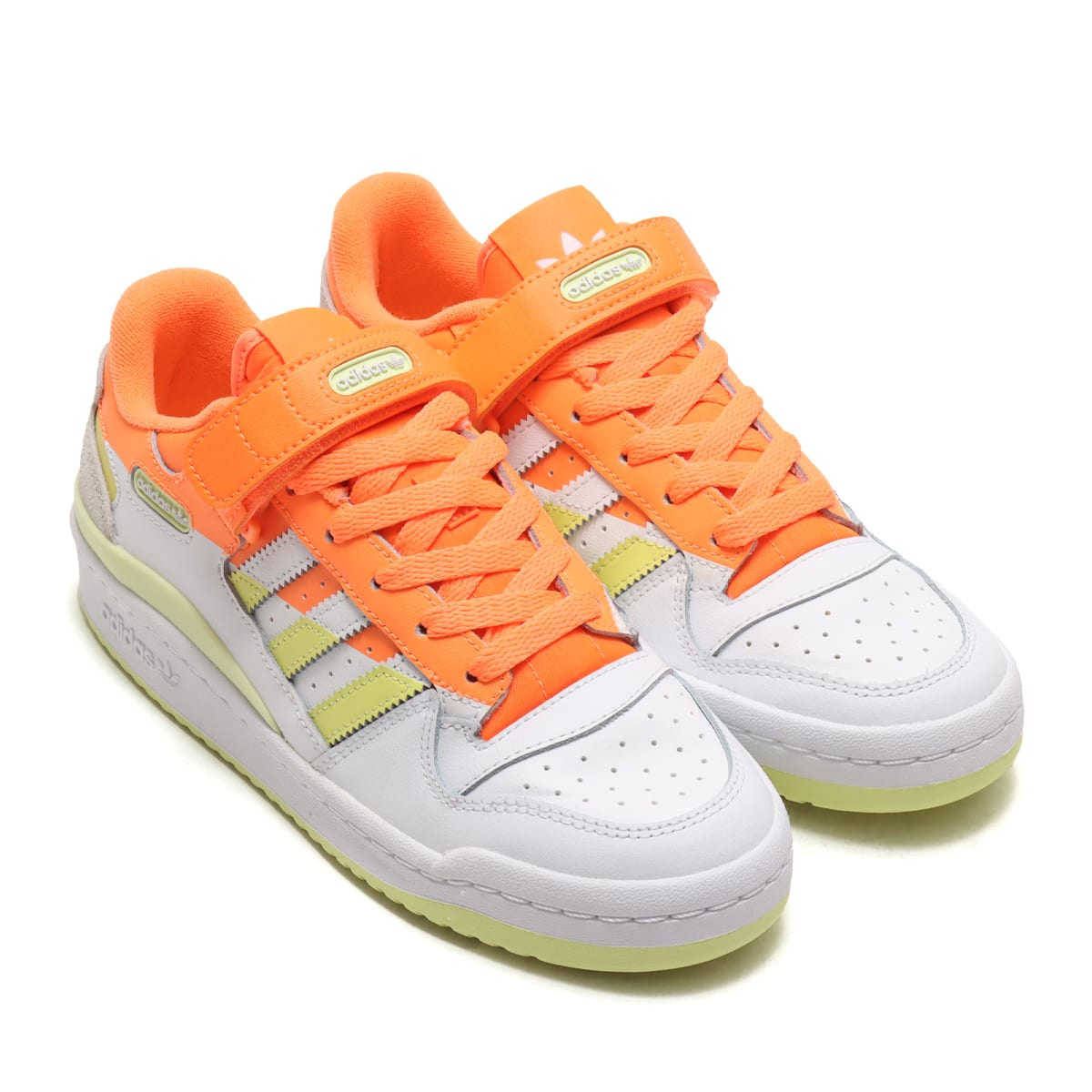 adidas FORUM LOW PREMIUM W SCREAMING ORANGE/YELLOWTINT/FOOTWEAR WHITE 21SS-I_photo_large