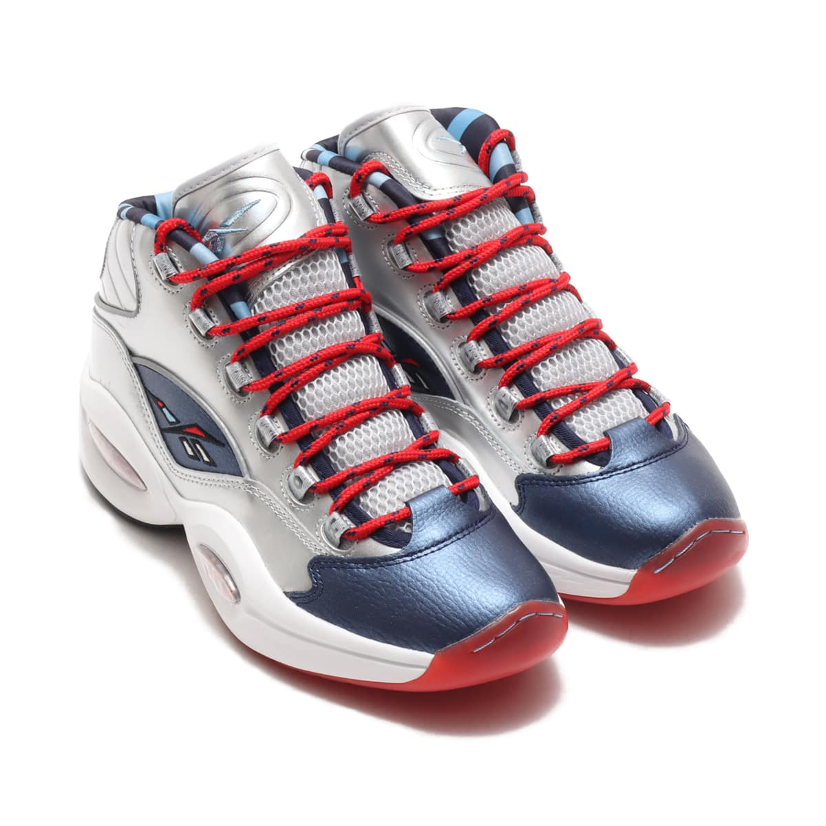 Reebok QUESTION MID MATT SILVER/BLUE CADET/PRIMAL RED 20FW-I_photo_large
