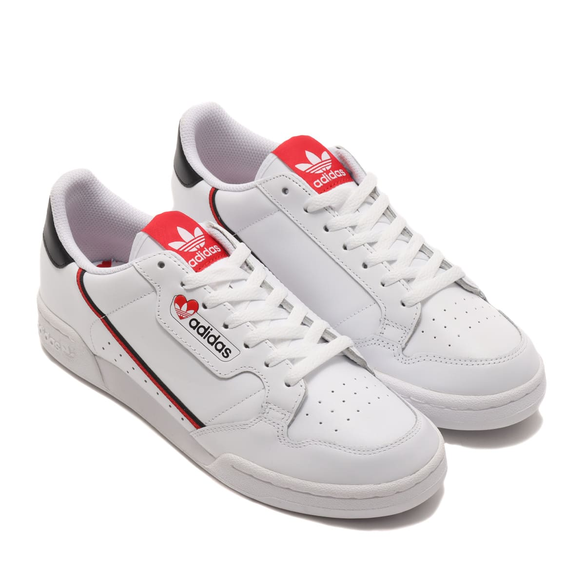 adidas CONTINENTAL 80 FOOTWEAR WHITE/CORE BLACK/SCARLET 21SS-S_photo_large