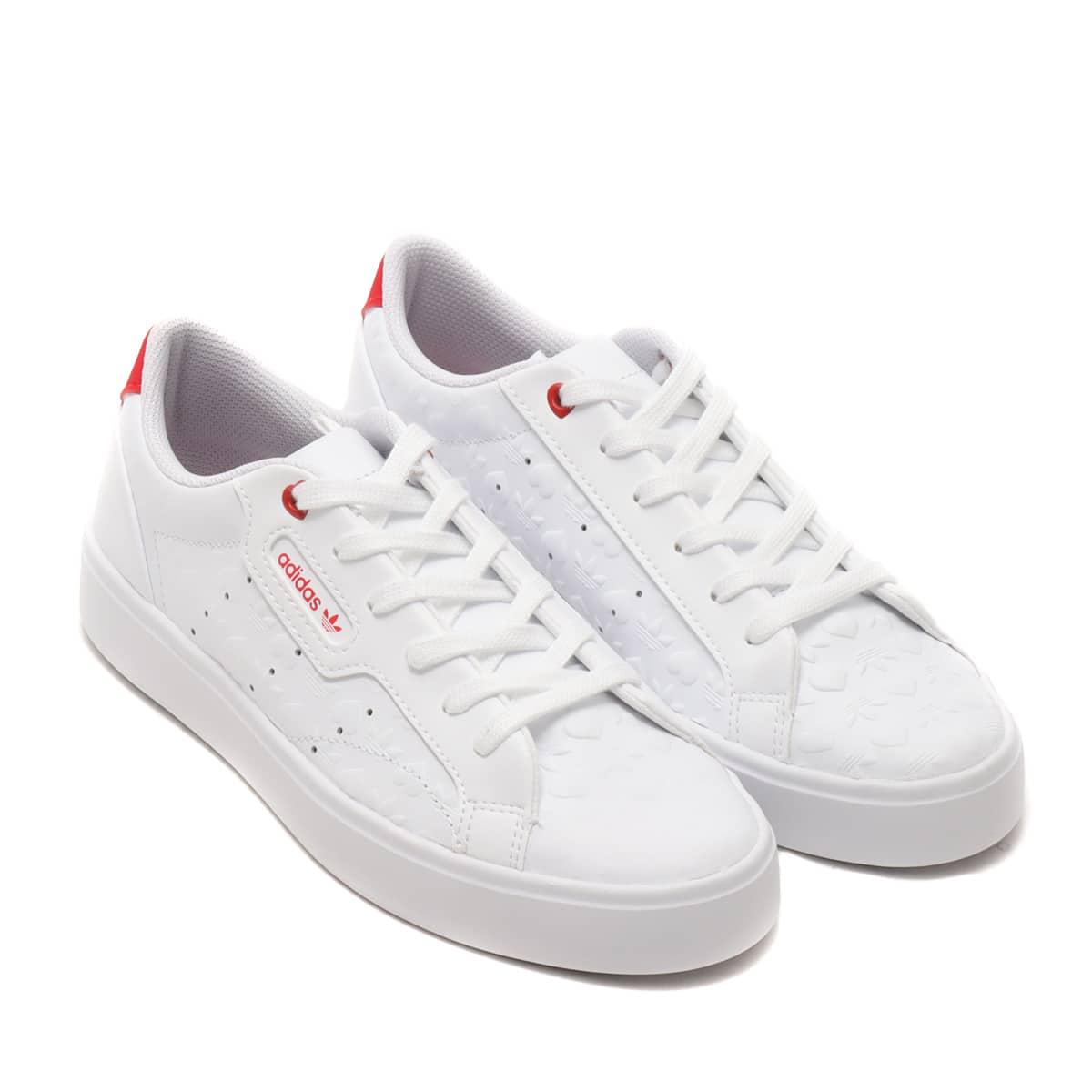adidas adidas SLEEK W FOOTWEAR WHITE/SCARLET/CORE BLACK 21SS-S_photo_large