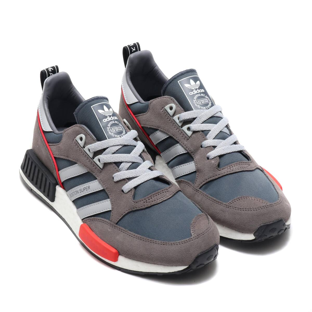 another chance ec336 76871 adidas Originals BOSTONSUPER x R1 BOLD ONYX CLEAR ONYX RUNNING WHITE