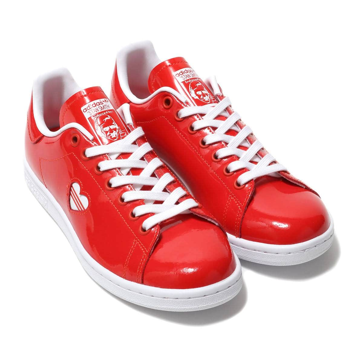 adidas Originals STAN SMITH W ACTIVE RED/RUNNING WHITE/ACTIVE RED 19SS-I_photo_large