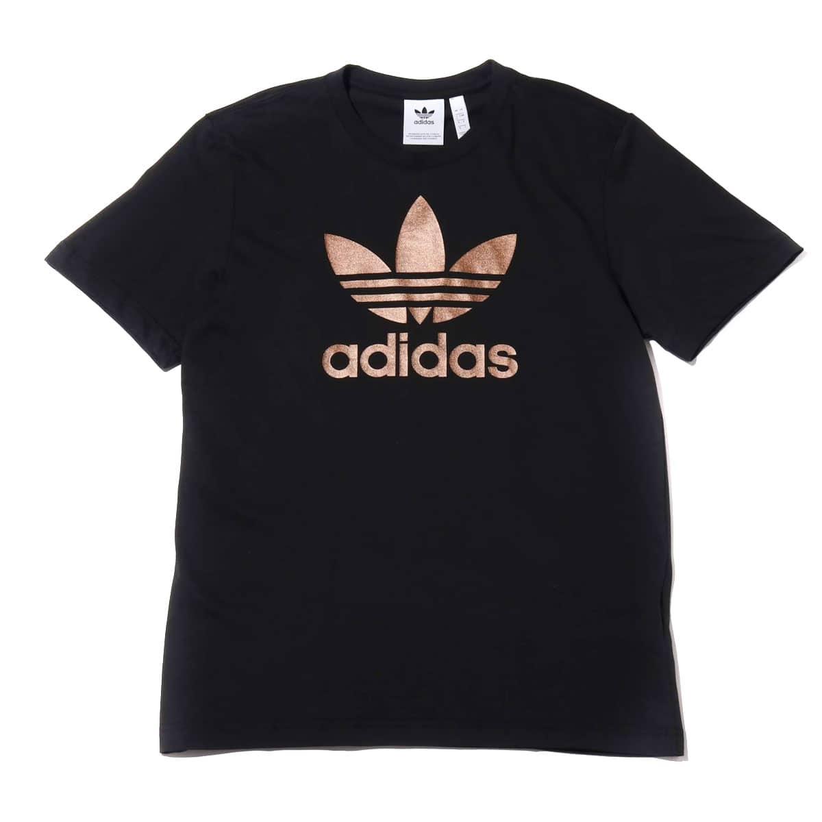 adidas TREFOIL TEE BLACK 19FW-I_photo_large
