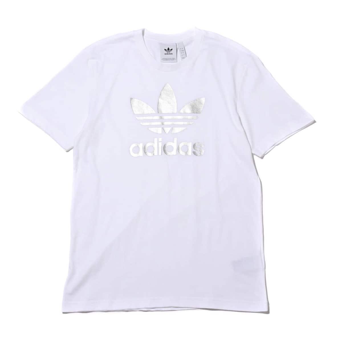 adidas TREFOIL TEE WHITE 19FW-I_photo_large