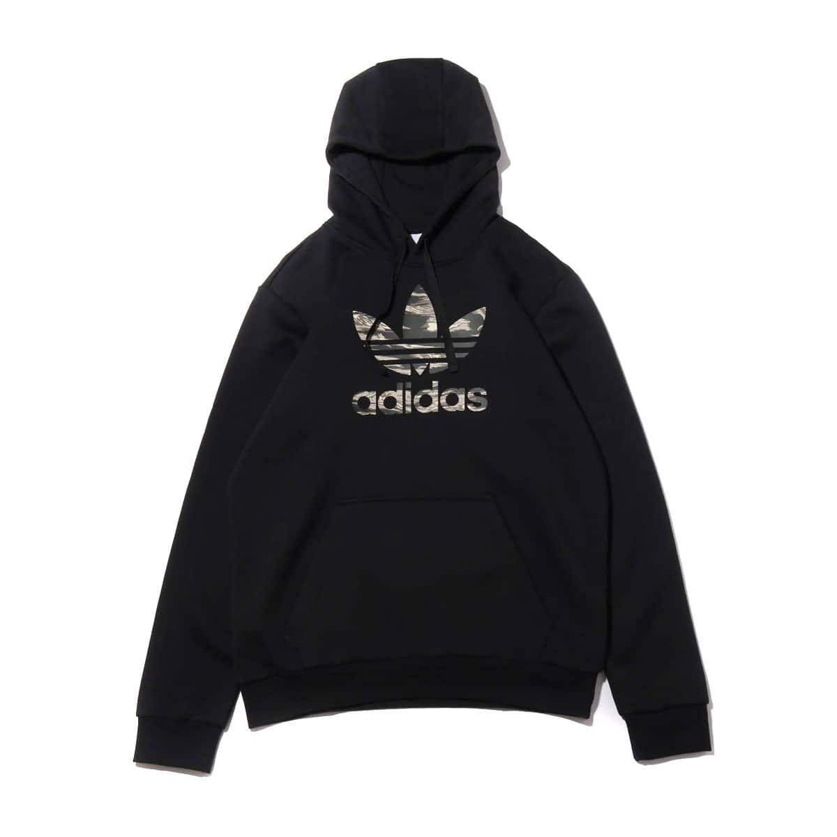 adidas CAMO TREFOIL HOODIE BLACK 19FW-I_photo_large