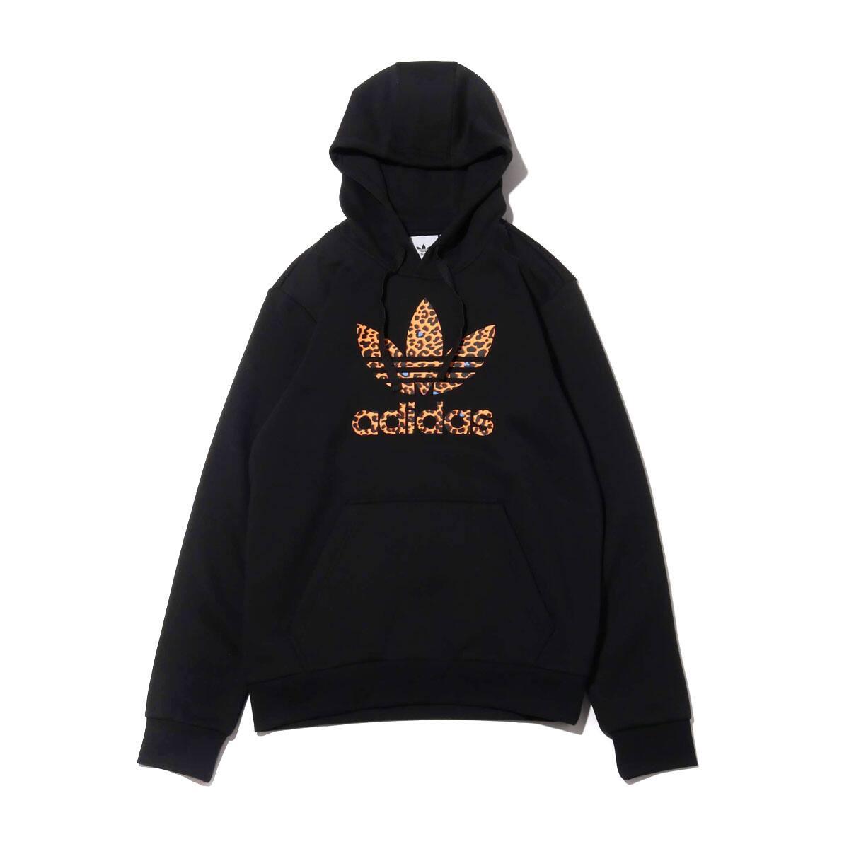 adidas LEPO TREFOIL HOODIE BLACK 19FW-I_photo_large