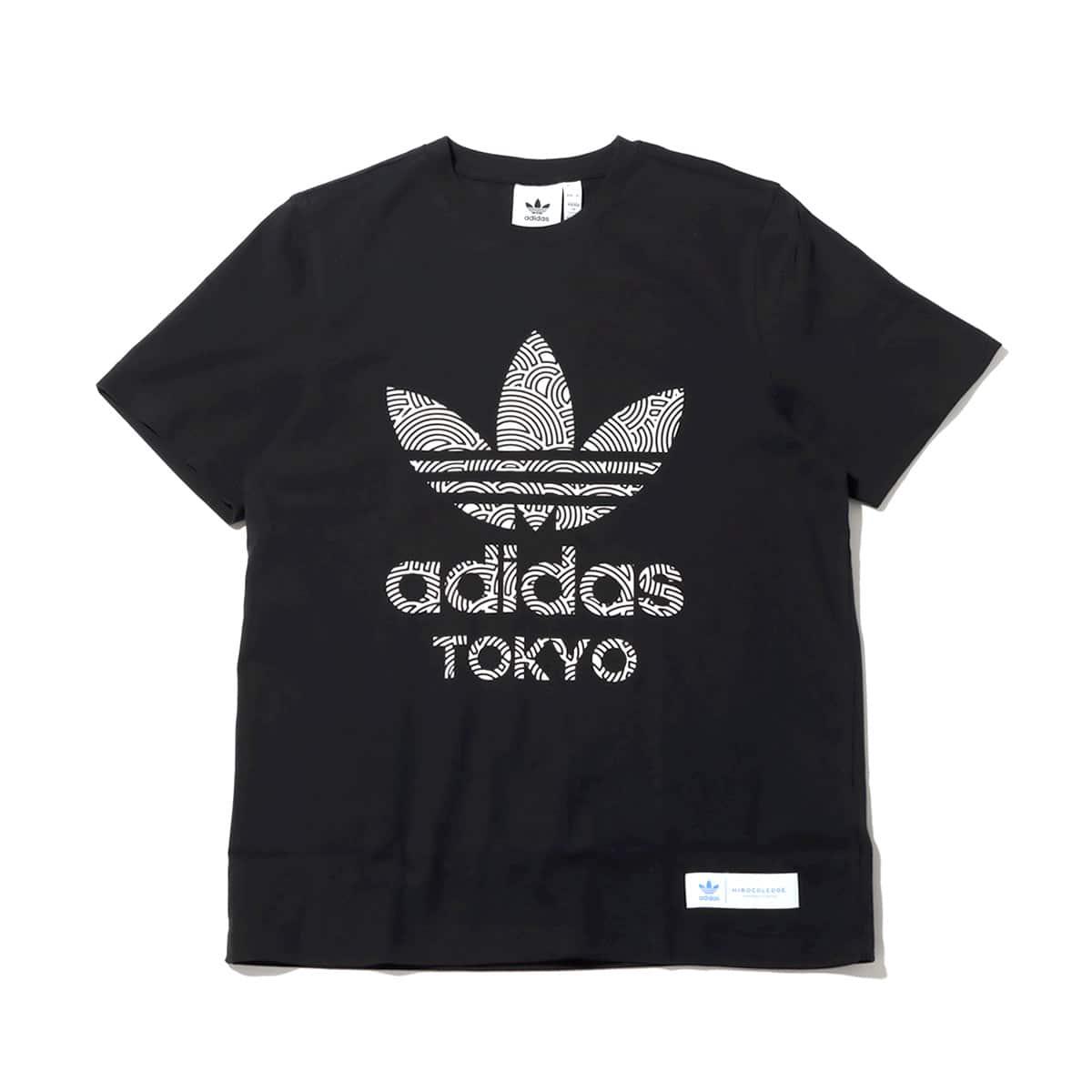 adidas HIROKO TAKAHASHI TREFOIL TOKYO TEE BLACK/WHITE 20FW-I_photo_large