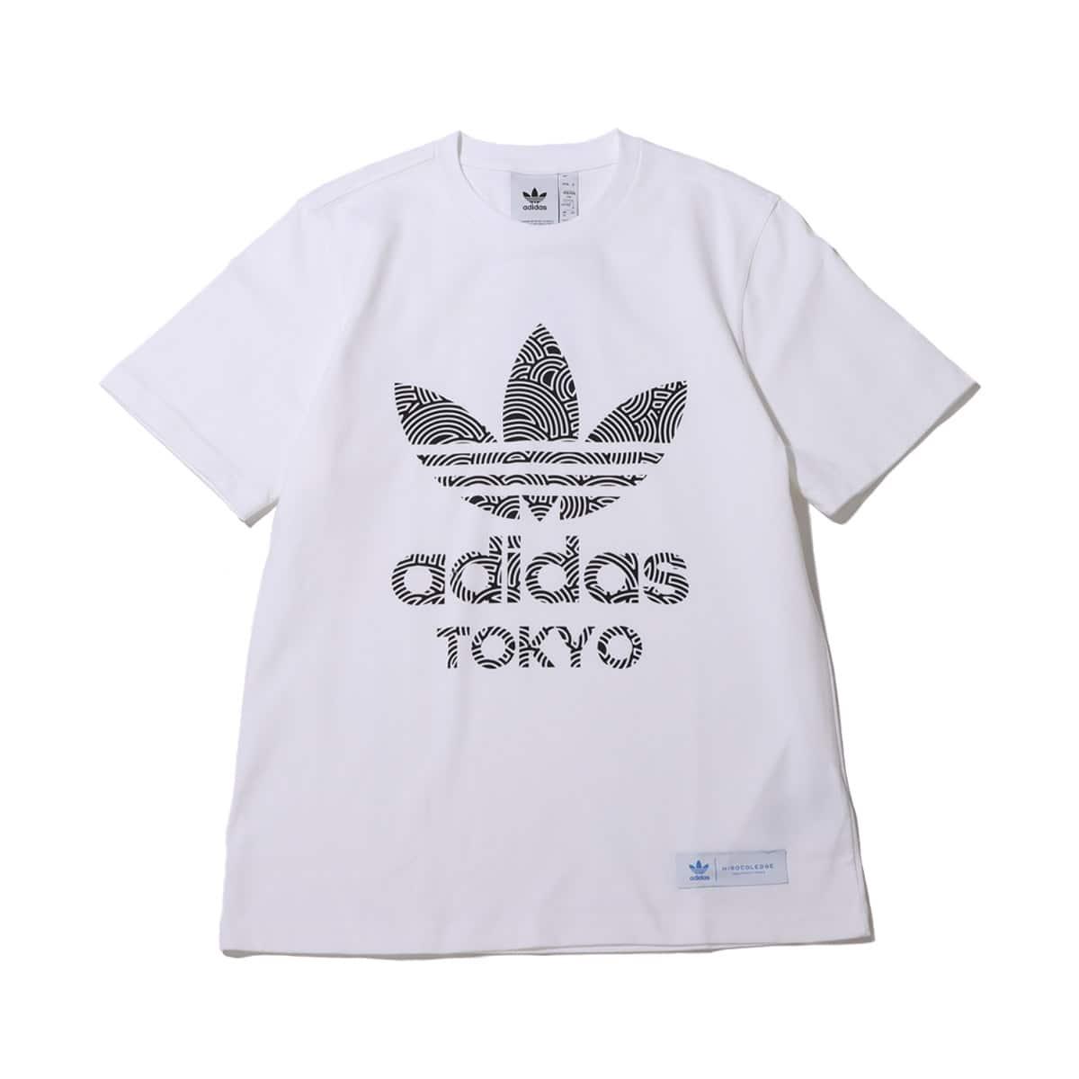 adidas HIROKO TAKAHASHI TREFOIL TOKYO TEE WHITE/BLACK 20FW-I_photo_large