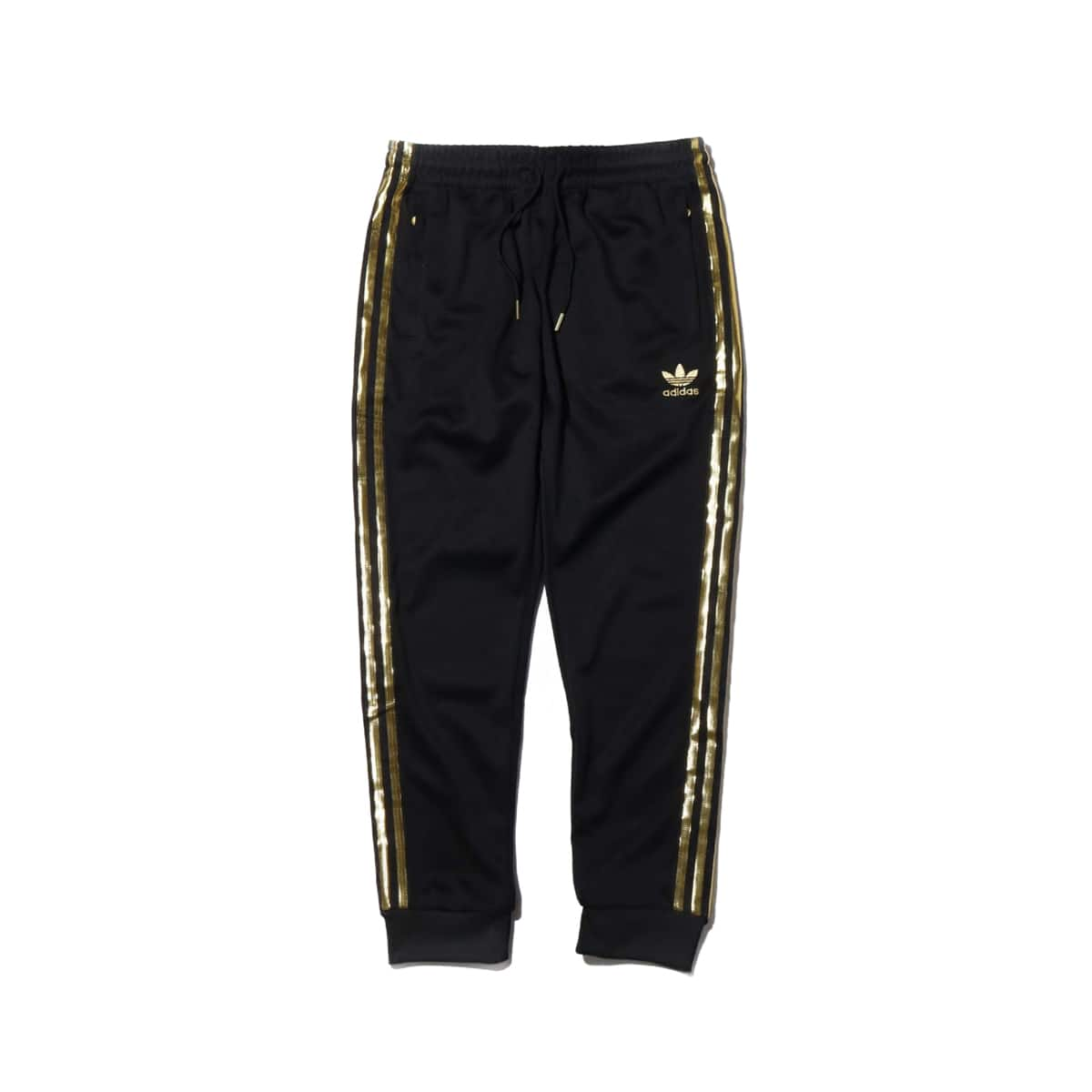adidas SST 24 TRACK PANTS BLACK/GOLD METRIC 20SS-I_photo_large
