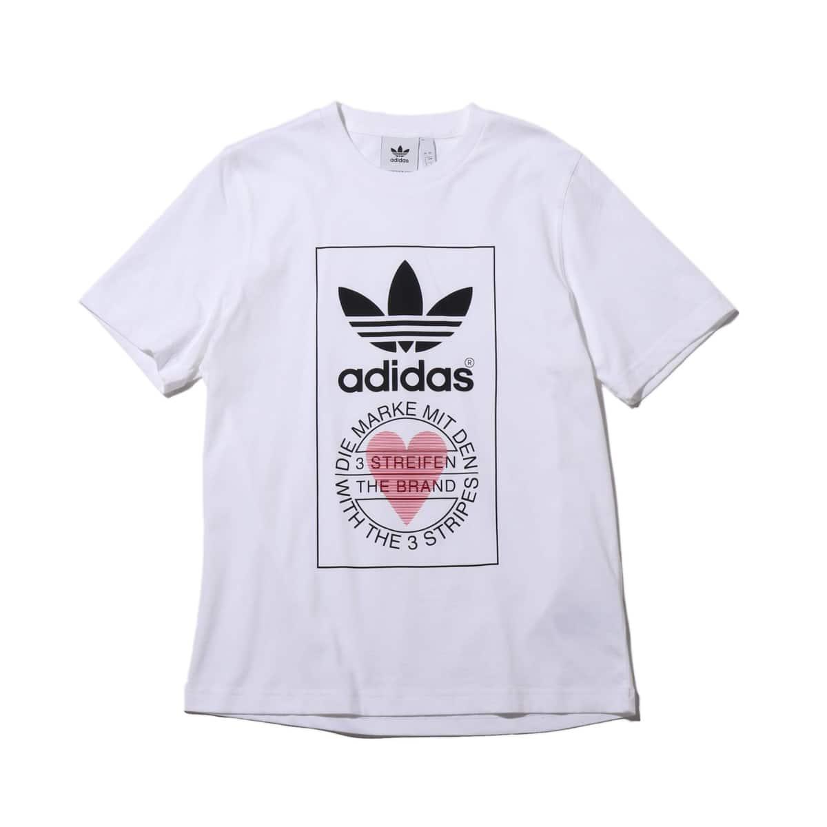 adidas UNISEX TEE WHITE 20SS-S_photo_large