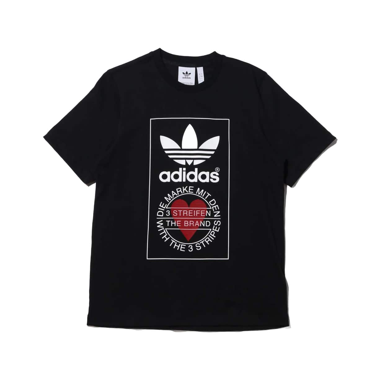 adidas UNISEX TEE BLACK 20SS-S_photo_large