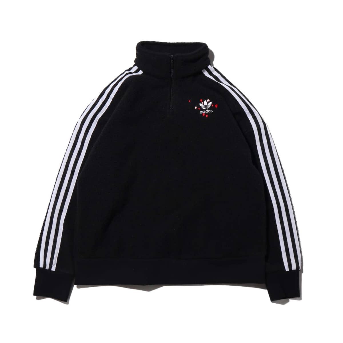 adidas HALF ZIP JACKET BLACK 20SS-S_photo_large