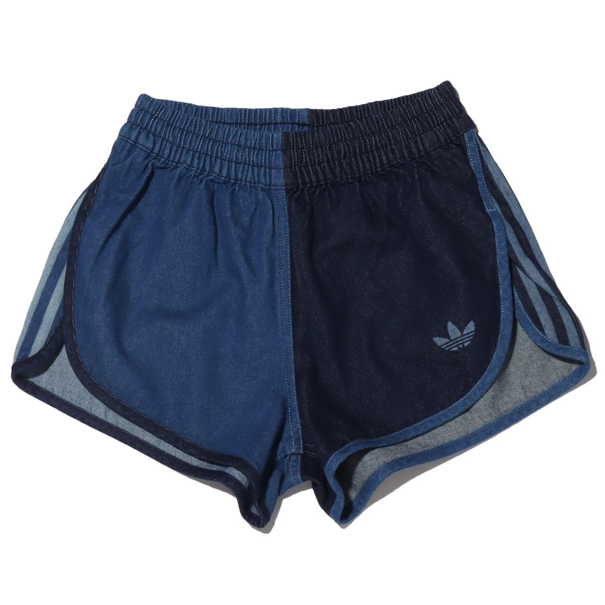 adidas DENIM SHORTS INDIGO/BAHIA BLUE 21SS-I_photo_large