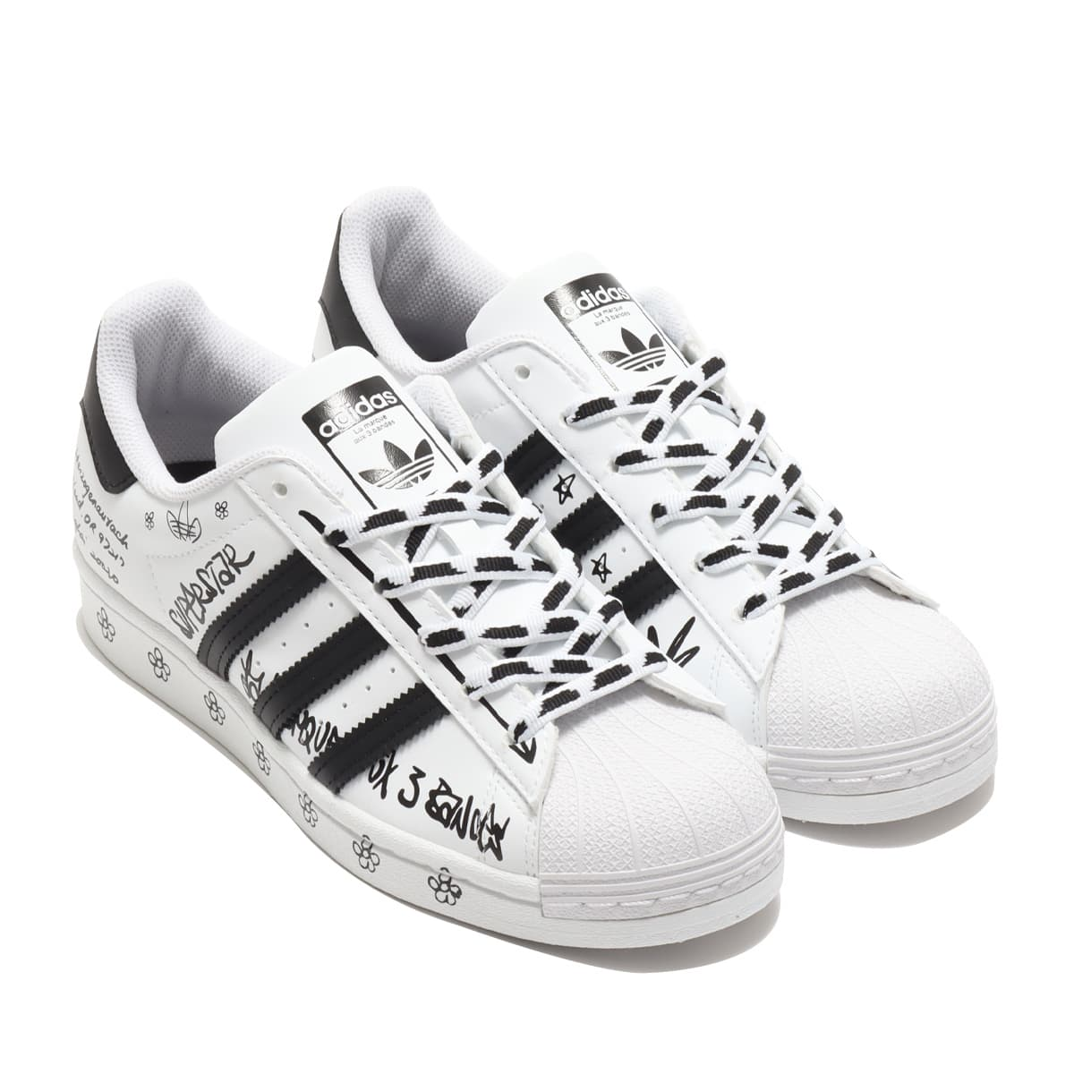 adidas SUPERSTAR FOOTWEAR WHITE/CORE BLACK/FOOTWEAR WHITE 21SS-I_photo_large