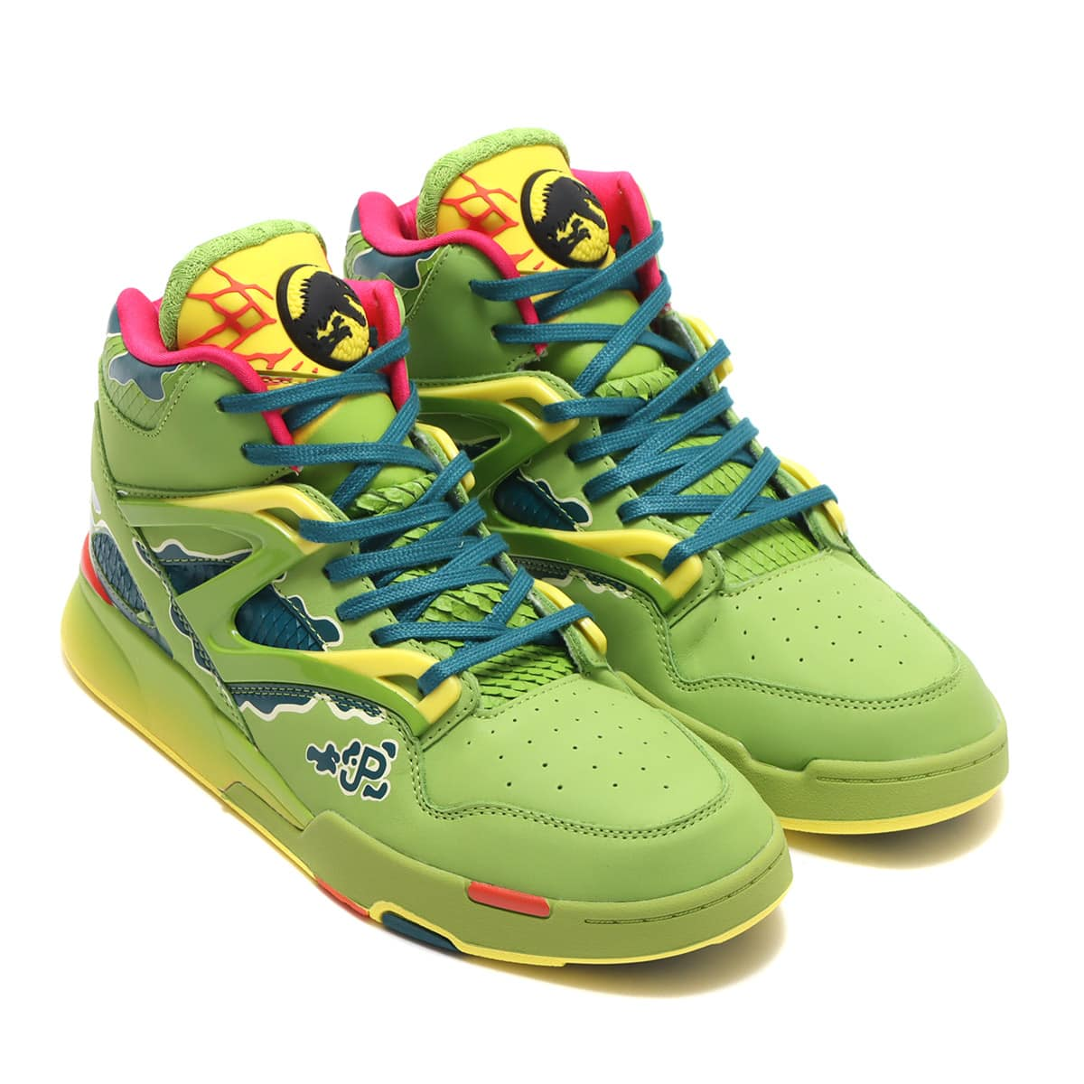 Reebok PUMP OMNI ZONE II ULTRA LIME/HERITAGE TEAL/STINGY YELLOW 21SS-S_photo_large