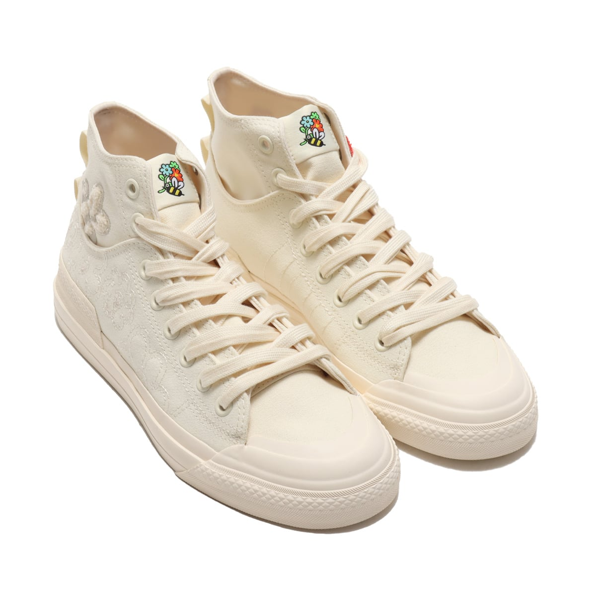 adidas NIZZA HI DL CORE WHITE/CORE WHITE/ORANGE TINT 21SS-S_photo_large
