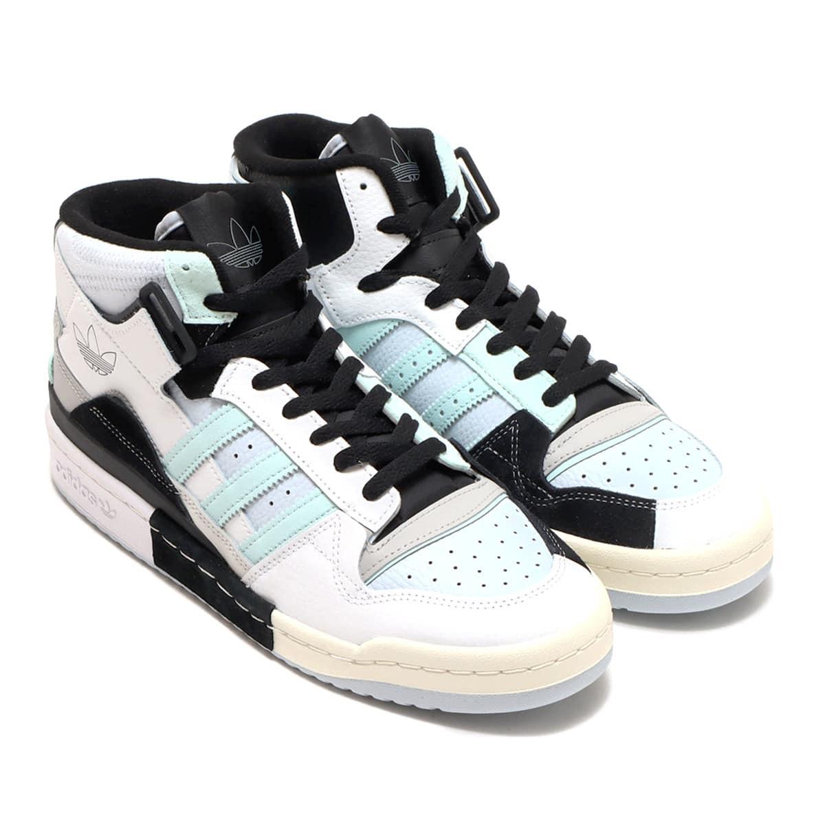 adidas FORUM EXHIBIT MID FOOTWEAR WHITE/GRAY TWO/HALO MINT 21FW-I_photo_large