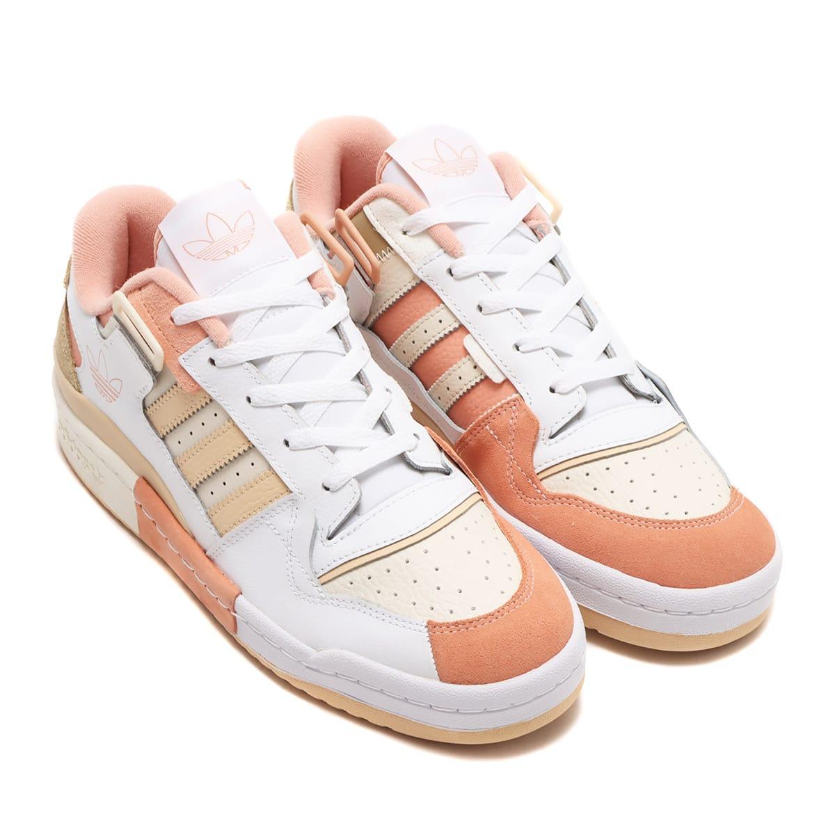 adidas FORUM EXHIBIT LOW FOOTWEAR WHITE/CREAM WHITE/HELLOW UMBER 21FW-I_photo_large