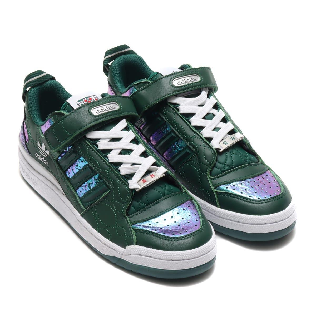adidas FORUM LOW DARK GREEN/DARK GREEN/FOOTWEAR WHITE 20FW-S_photo_large