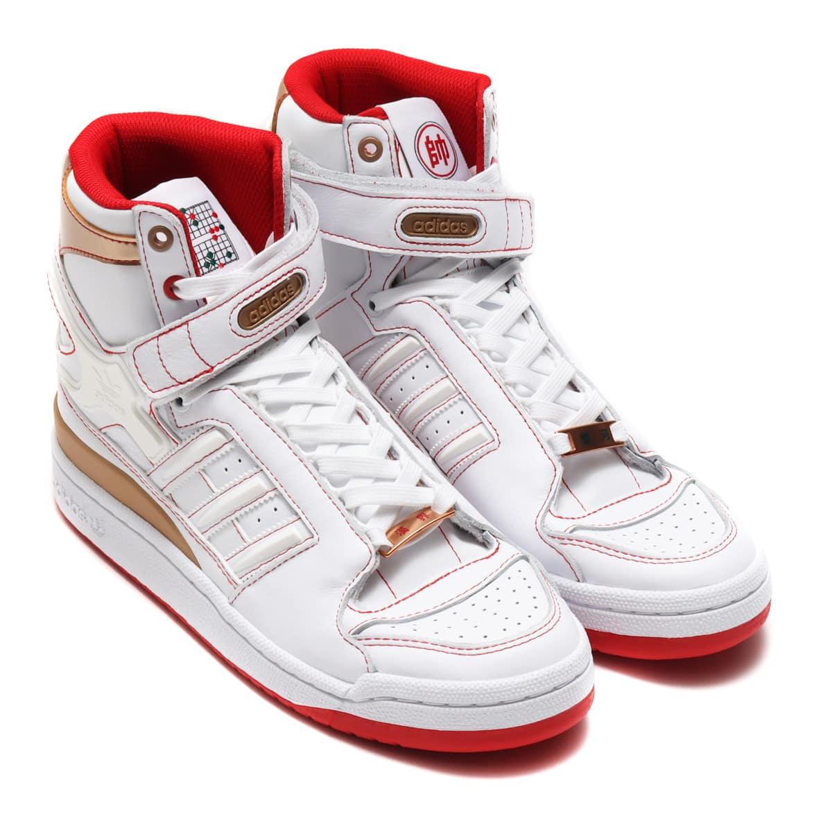 adidas FORUM HI OG FOOTWEAR WHITE/FOOTWEAR WHITE/SCARLET 20FW-S_photo_large
