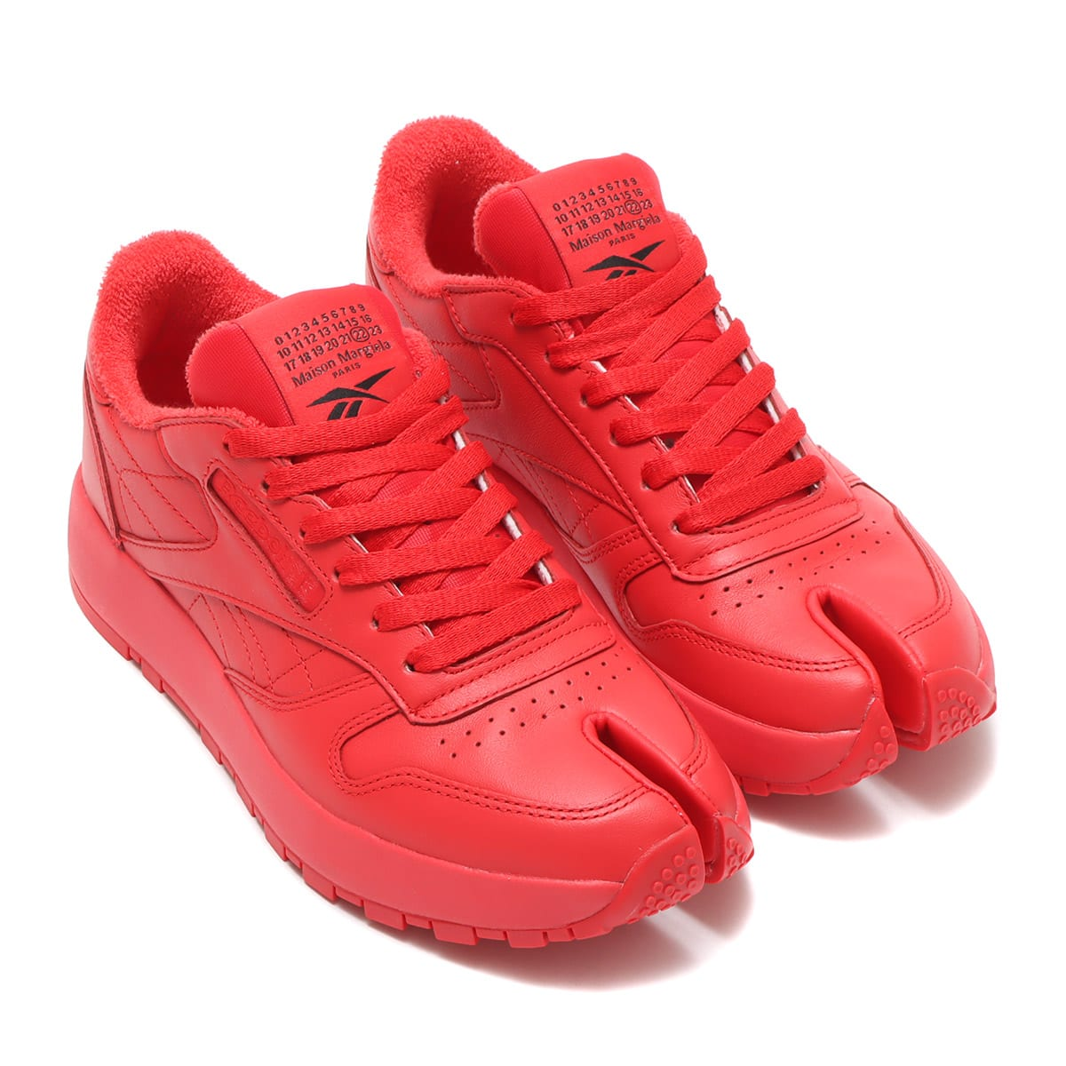 Reebok Collaboration Maison Margiela PROJECT 0 CL RED/WHITE/BLACK 21SS-S_photo_large