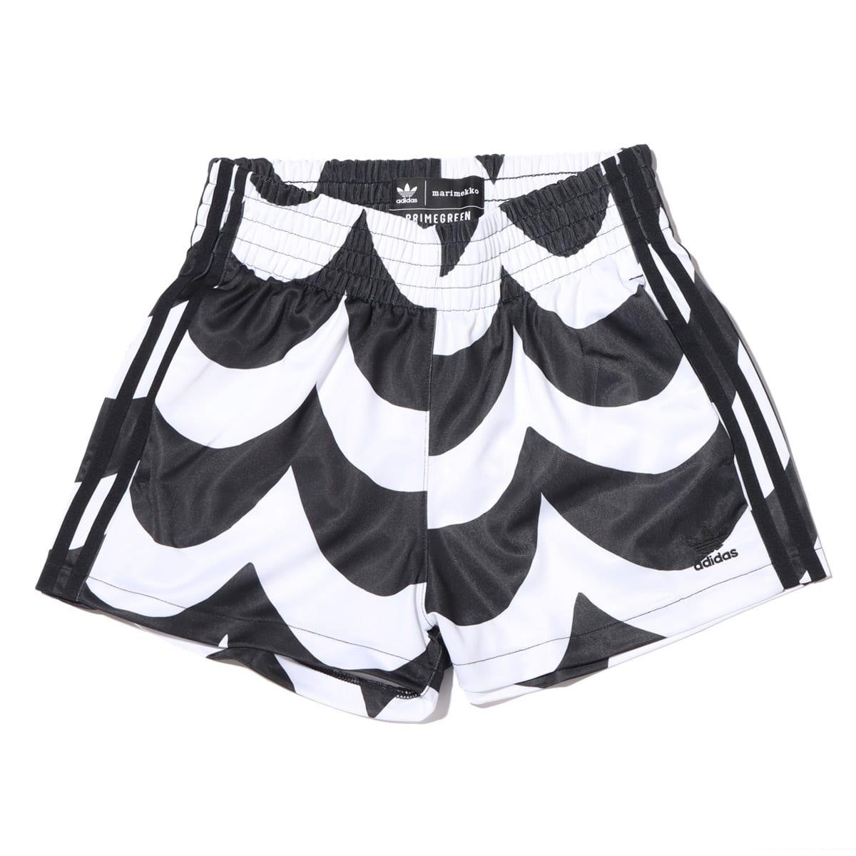 adidas Marimekko SHORT BLACK/WHITE 21FW-S_photo_large